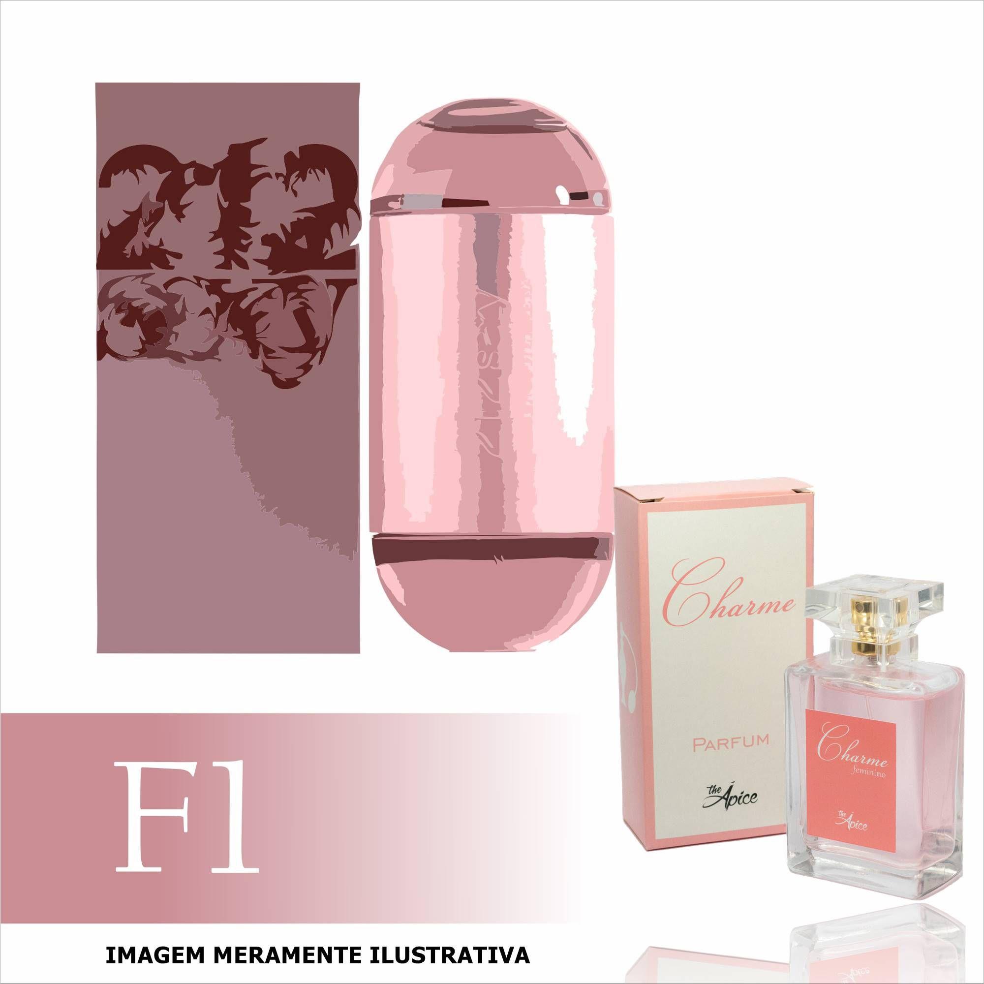 Perfume F1 Inspirado no 212 Sexy da Carolina Herrera Feminino