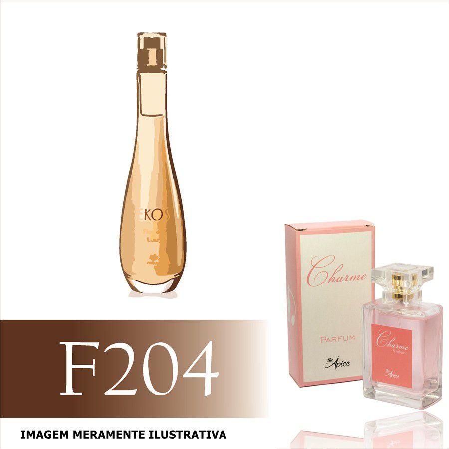 Perfume F204 Inspirado no Flor do Luar da Natura Feminino