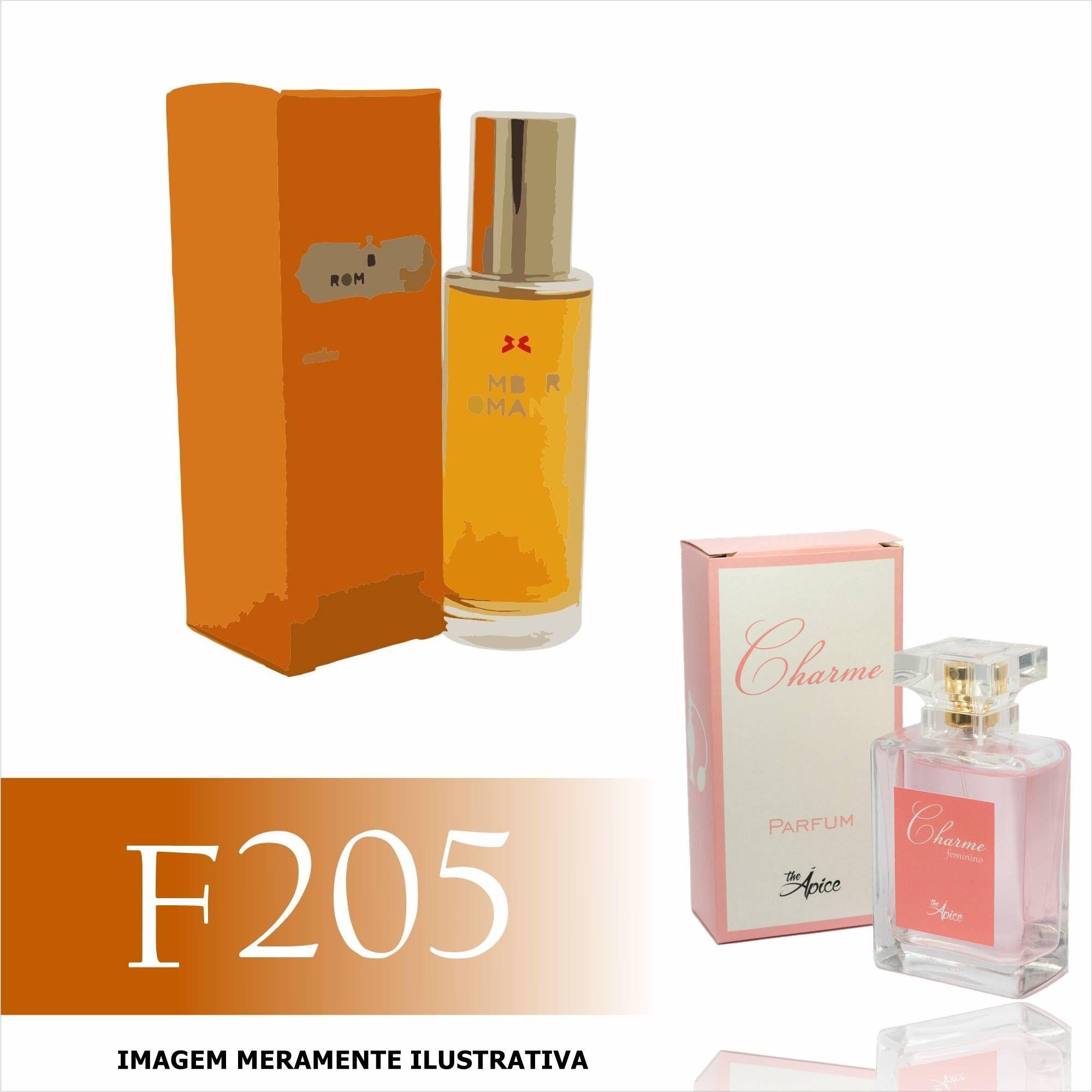Perfume F205 Inspirado no Amber Romance da Victoria's Secret Feminino