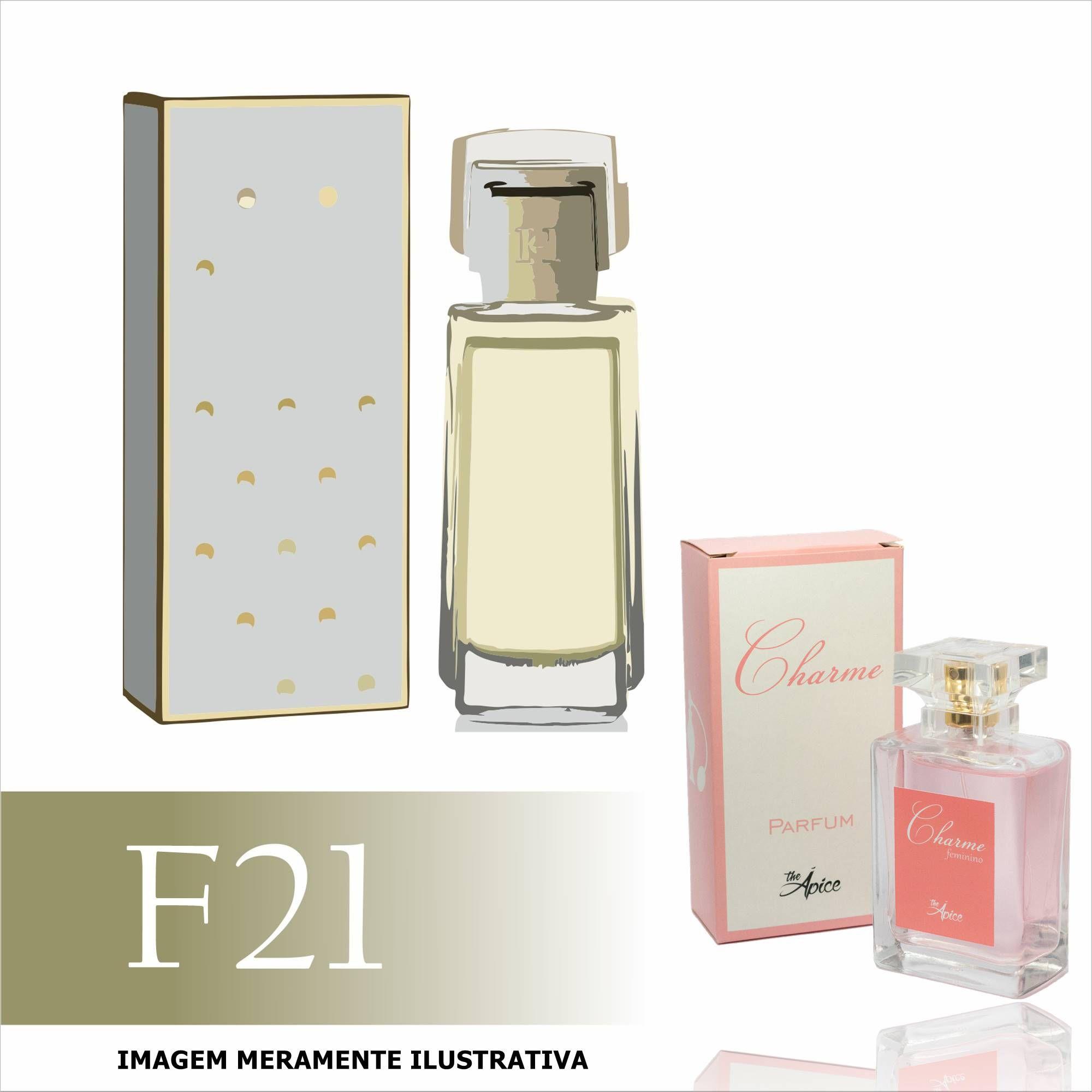 Perfume F21 Inspirado no Carolina Herrera Tradicional Feminino
