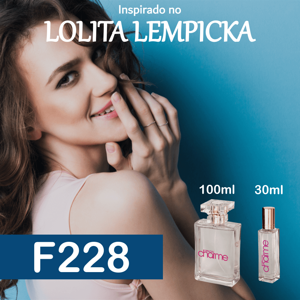 Perfume F228 Inspirado no Lolita Lempicka EDP Feminino