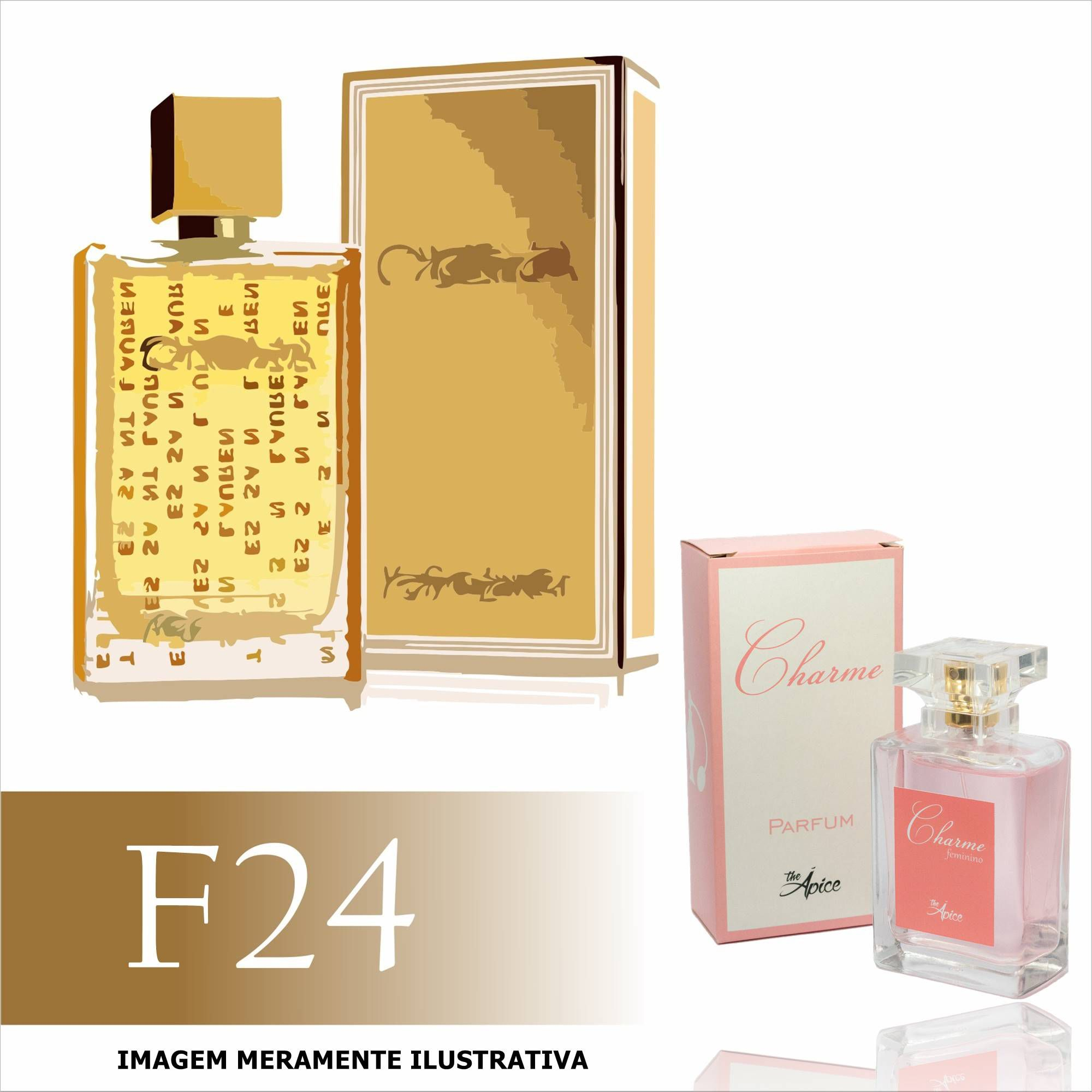 Perfume F24 Inspirado no Cinema da Yves Saint Laurent Feminino