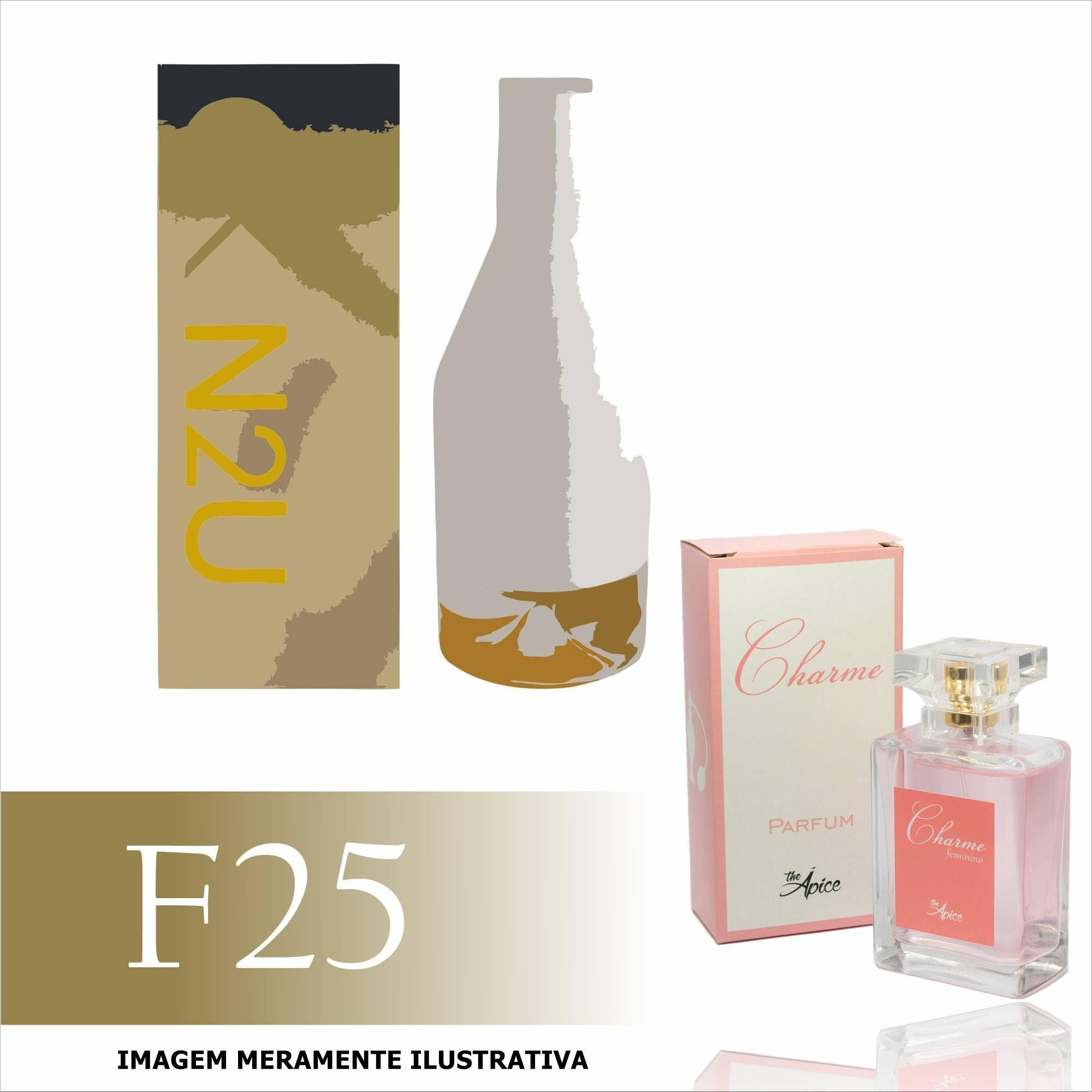 Perfume F25 Inspirado no CKIN2U Her da Calvin Klein Feminino