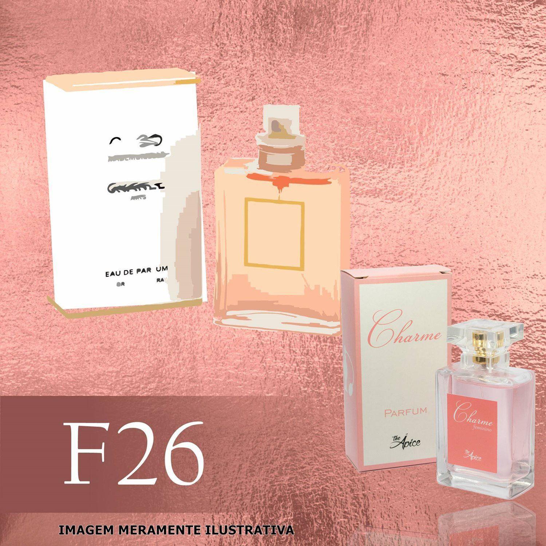 Perfume F26 Inspirado no Coco Mademoiselle da Chanel Feminino