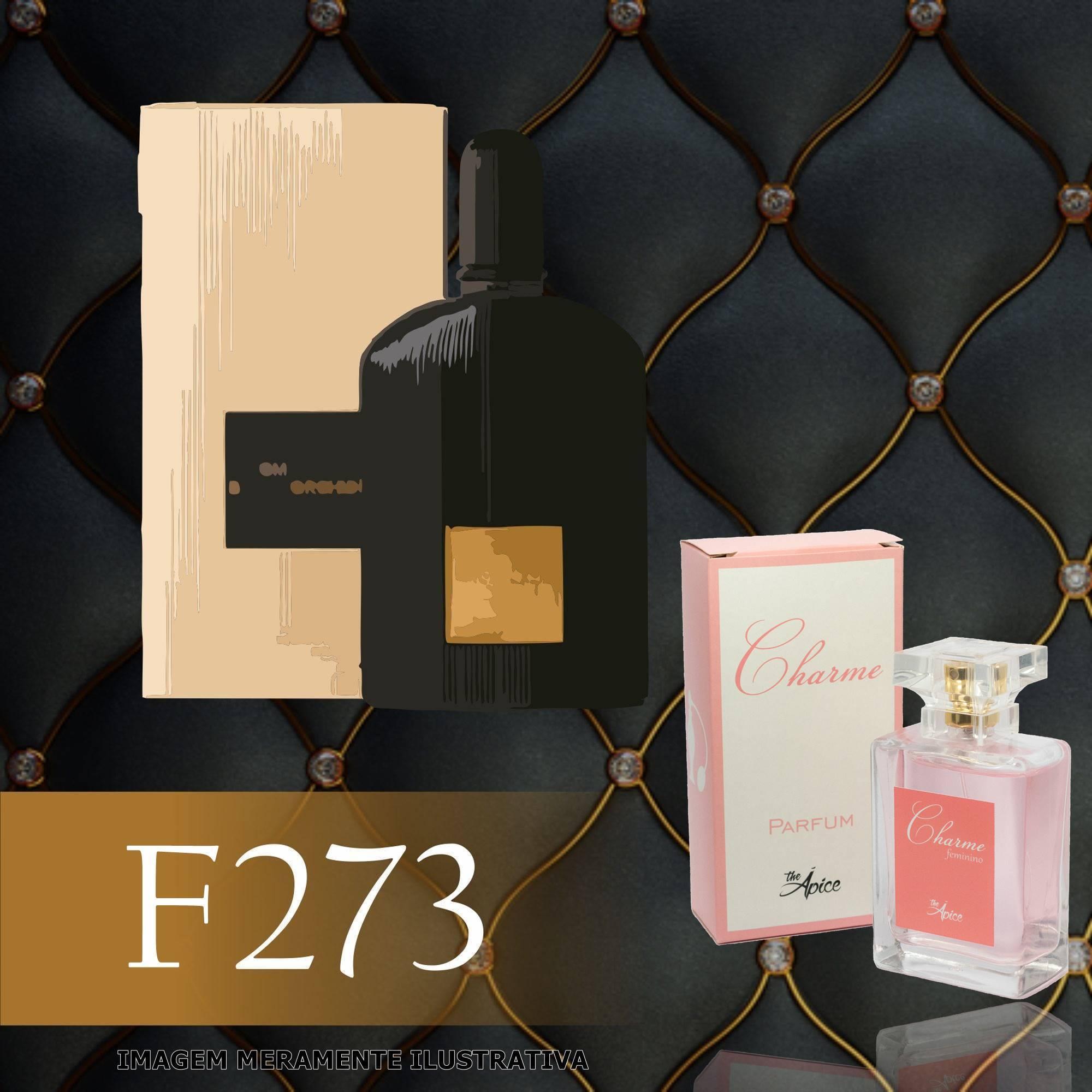 Perfume F273 Inspirado no Black Orchid da Tom Ford Feminino