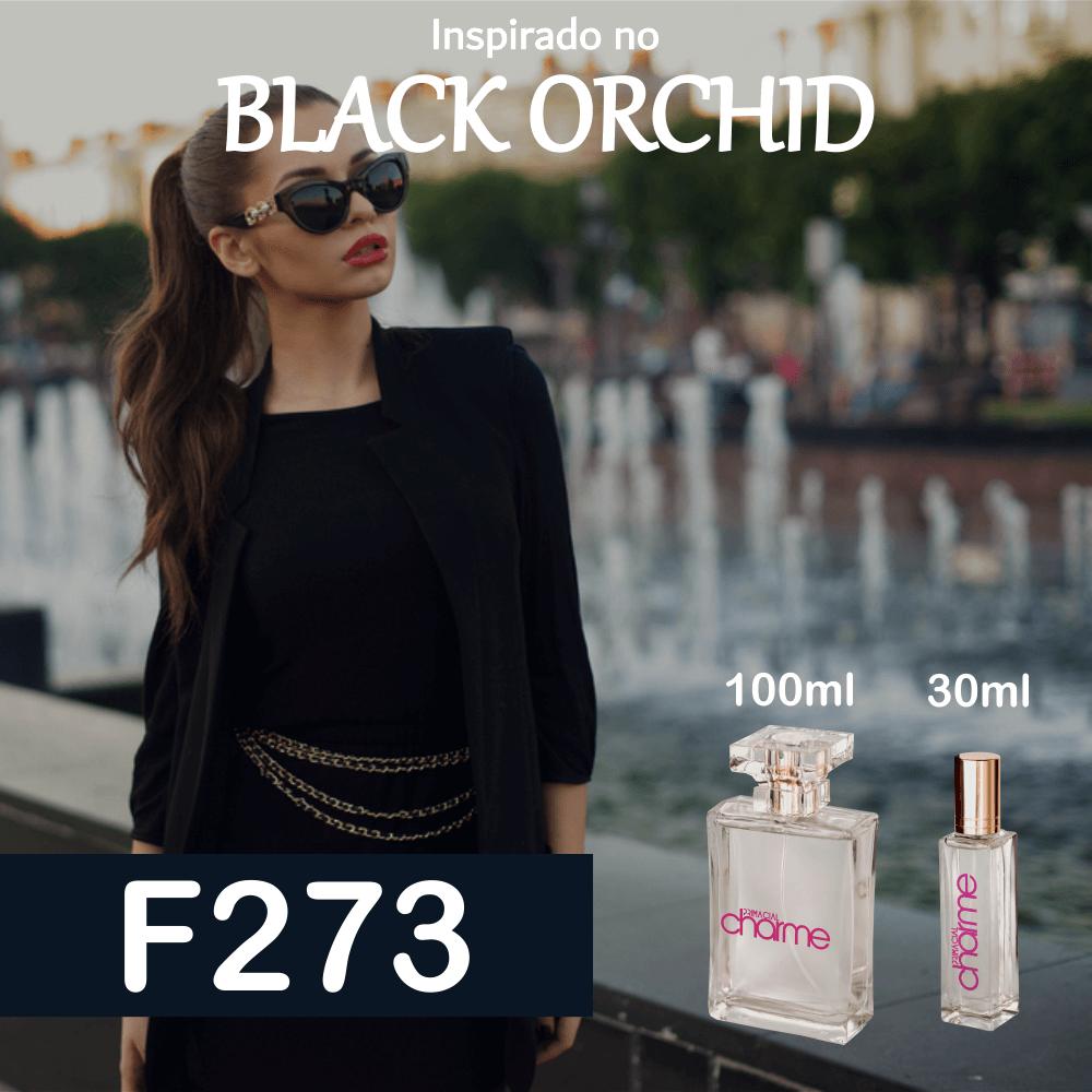 Perfume F273 Inspirado no Black Orchid EDP Feminino
