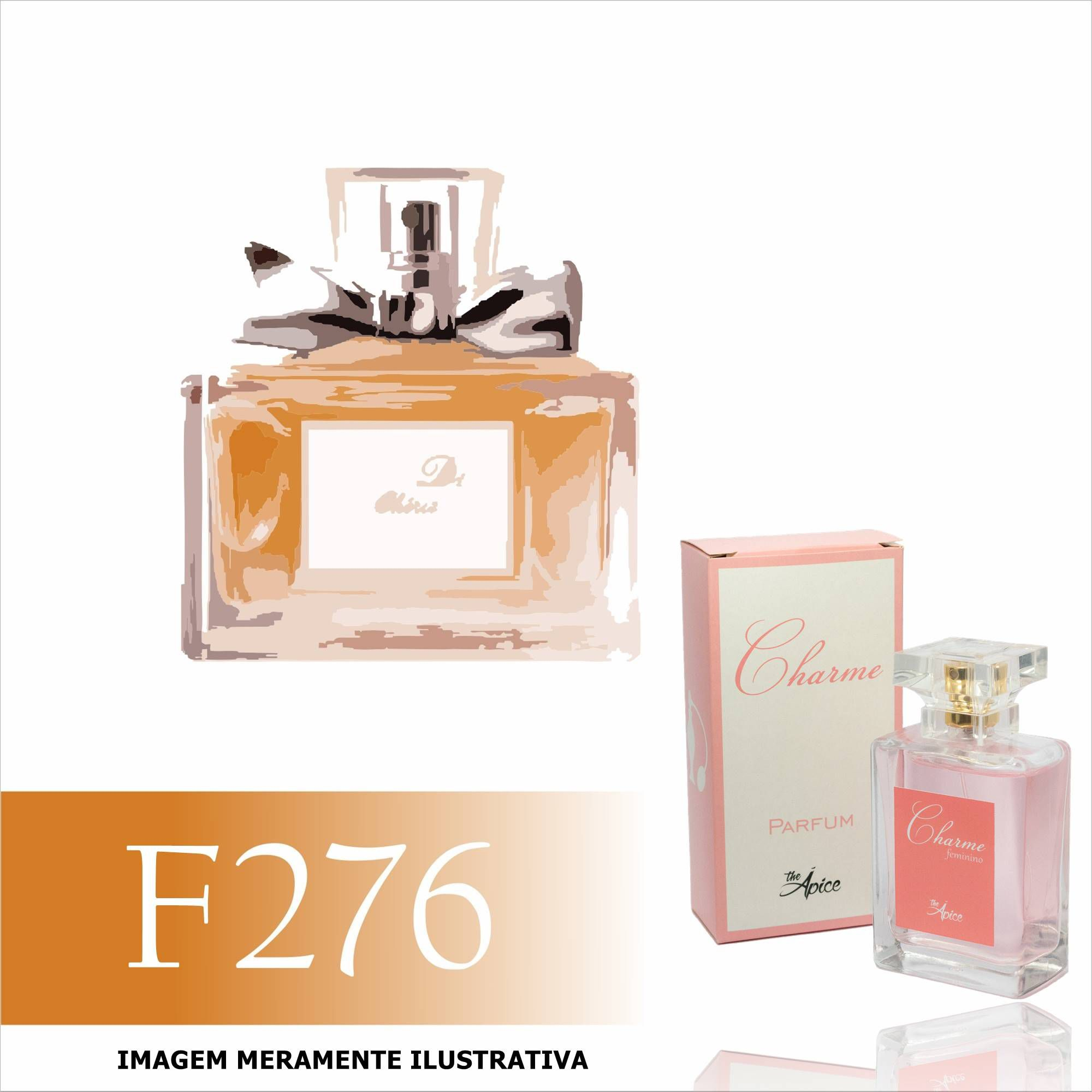 Perfume F276 Inspirado no Miss Cherie da Dior Feminino