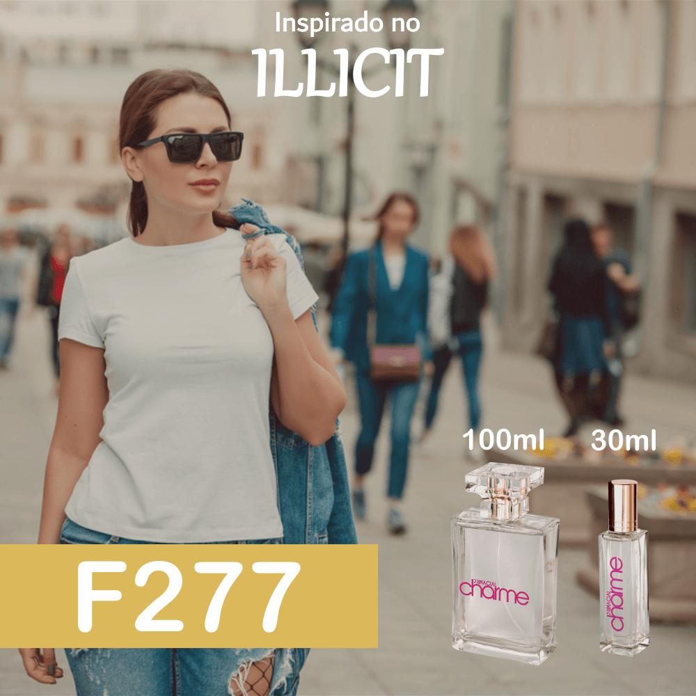 Perfume F277 Inspirado no Illicit Feminino