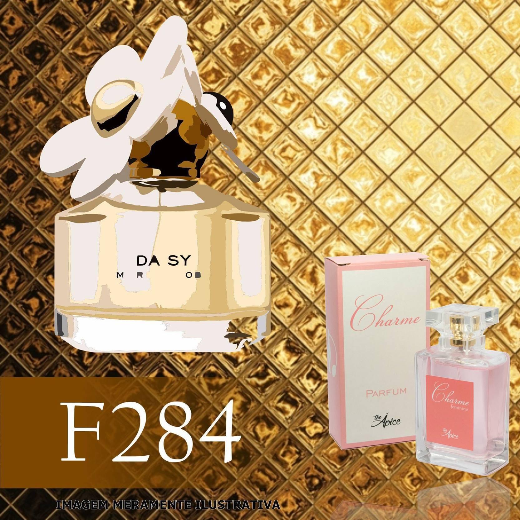 Perfume F284 Inspirado no Daisy da Marc Jacobs Feminino