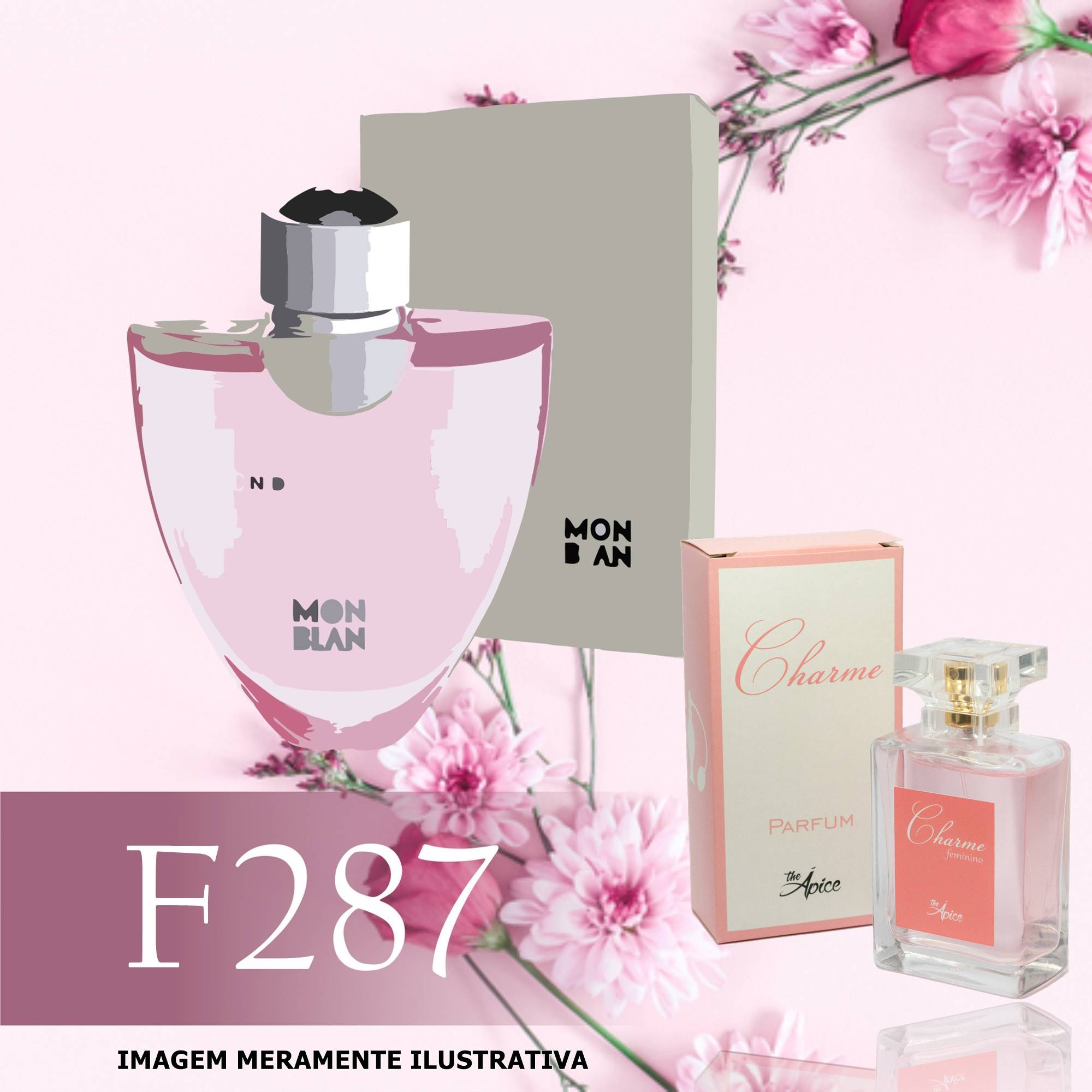 Perfume F287 Inspirado no Femme Individuelle da MontBlanc Feminino