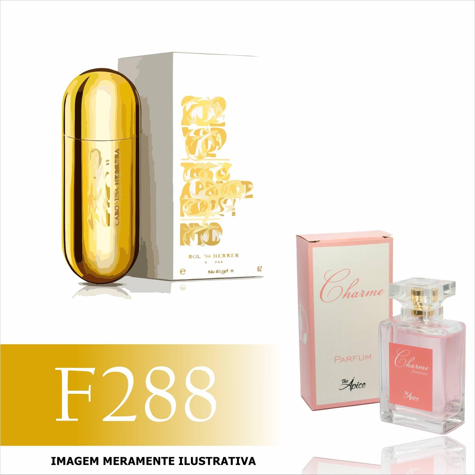 Perfume F288 Inspirado no 212 Vip  da Carolina Herrera Feminino