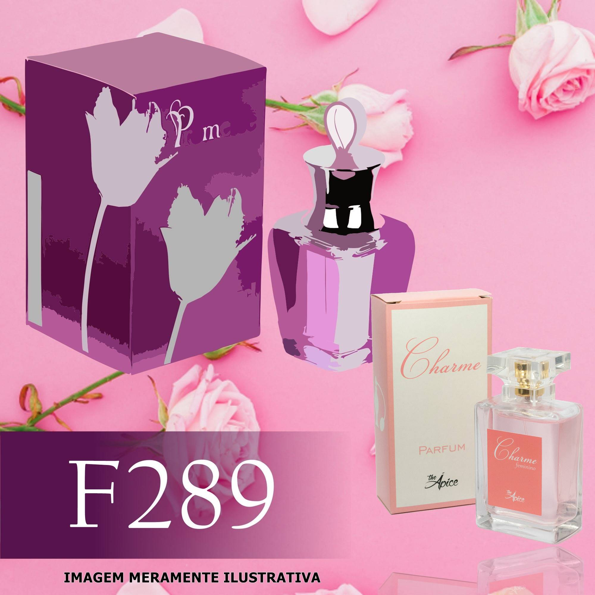 Perfume F289 Inspirado no Promesse da Cacharel Feminino