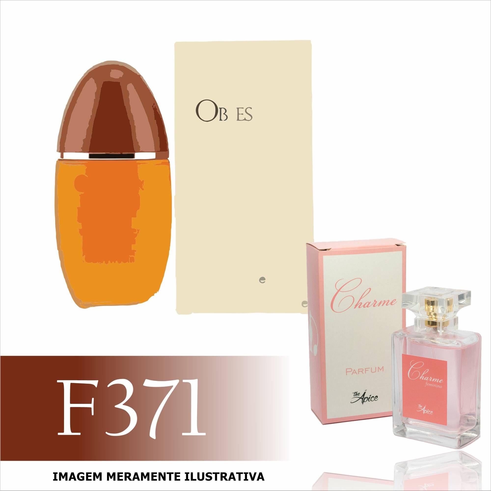 Perfume F371 Inspirado no Obsession da Calvin Klein Feminino