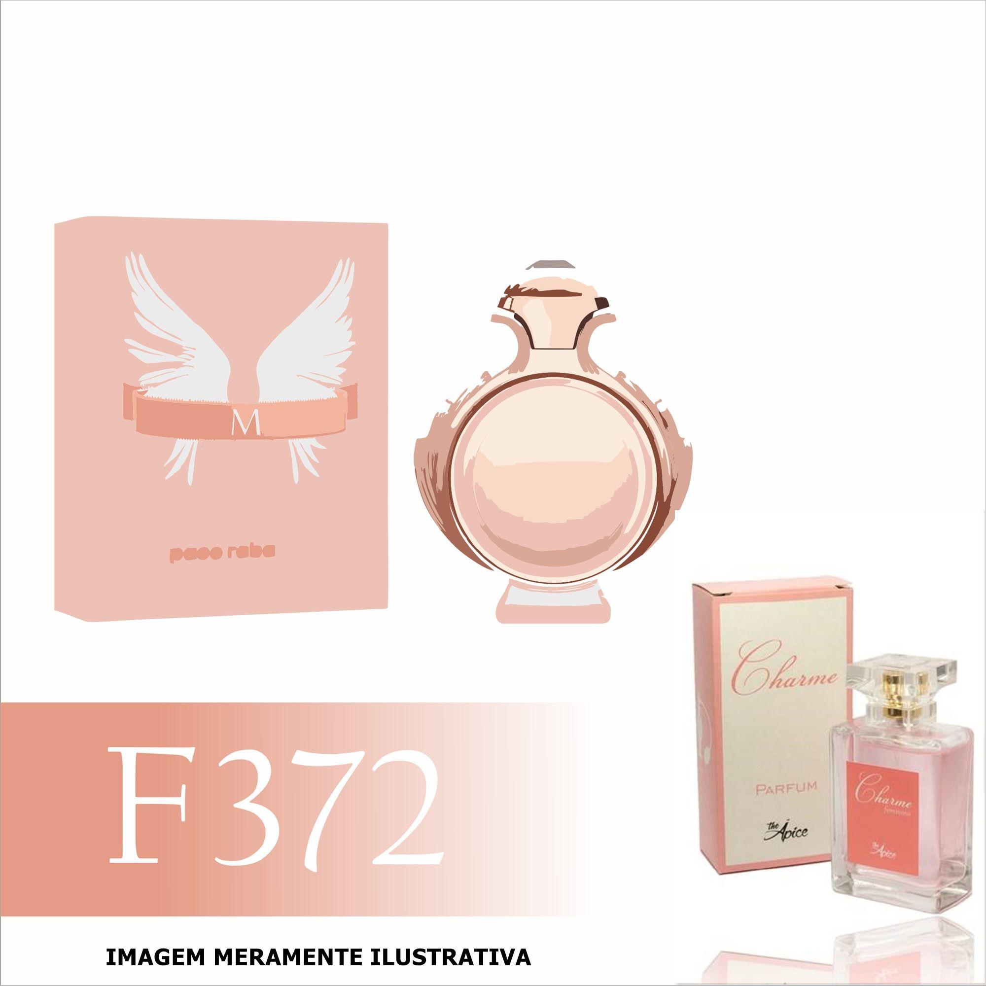 Perfume F372 Inspirado no Olympea da Paco Rabanne Feminino