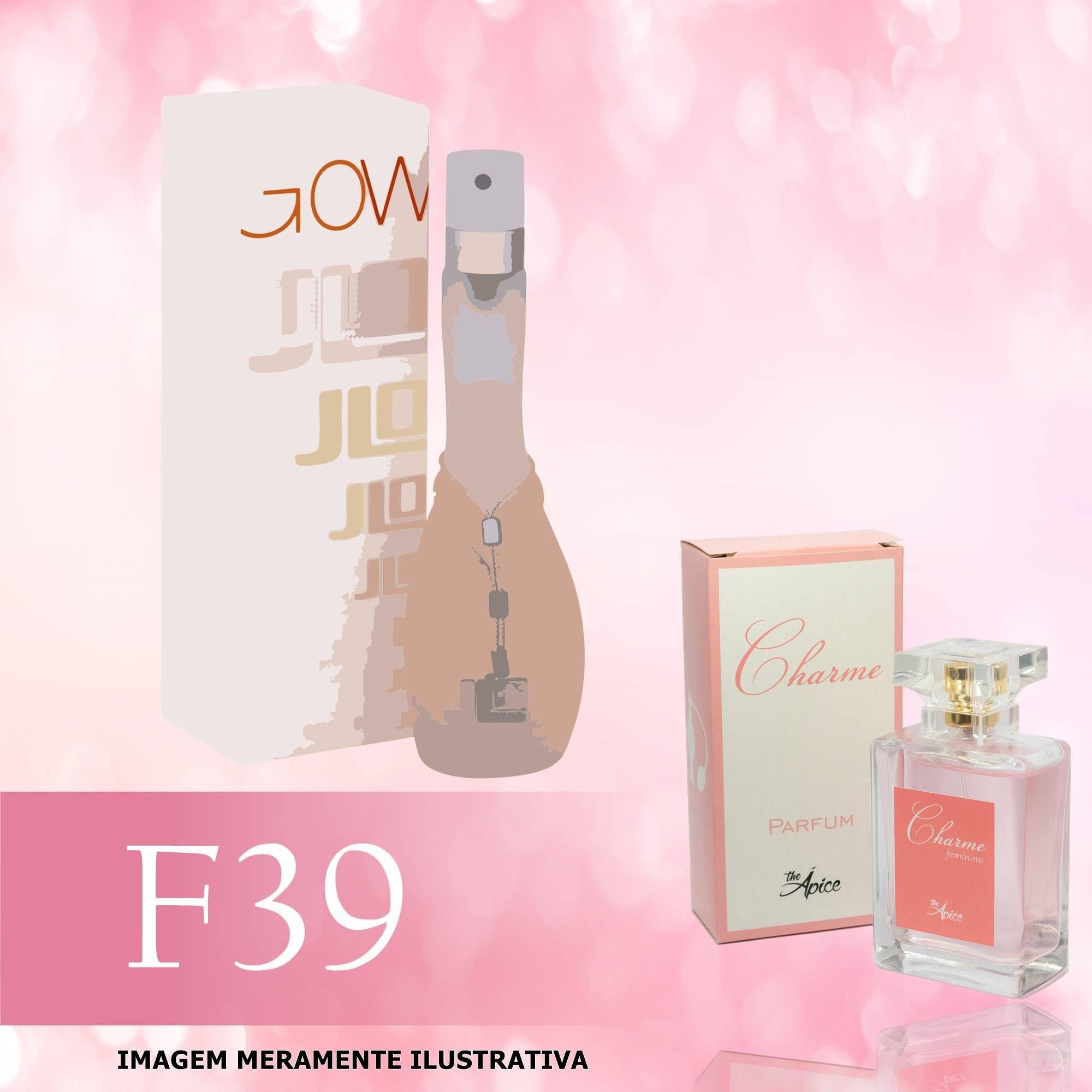 Perfume F39 Inspirado no Glow da Jennifer Lopez Feminino