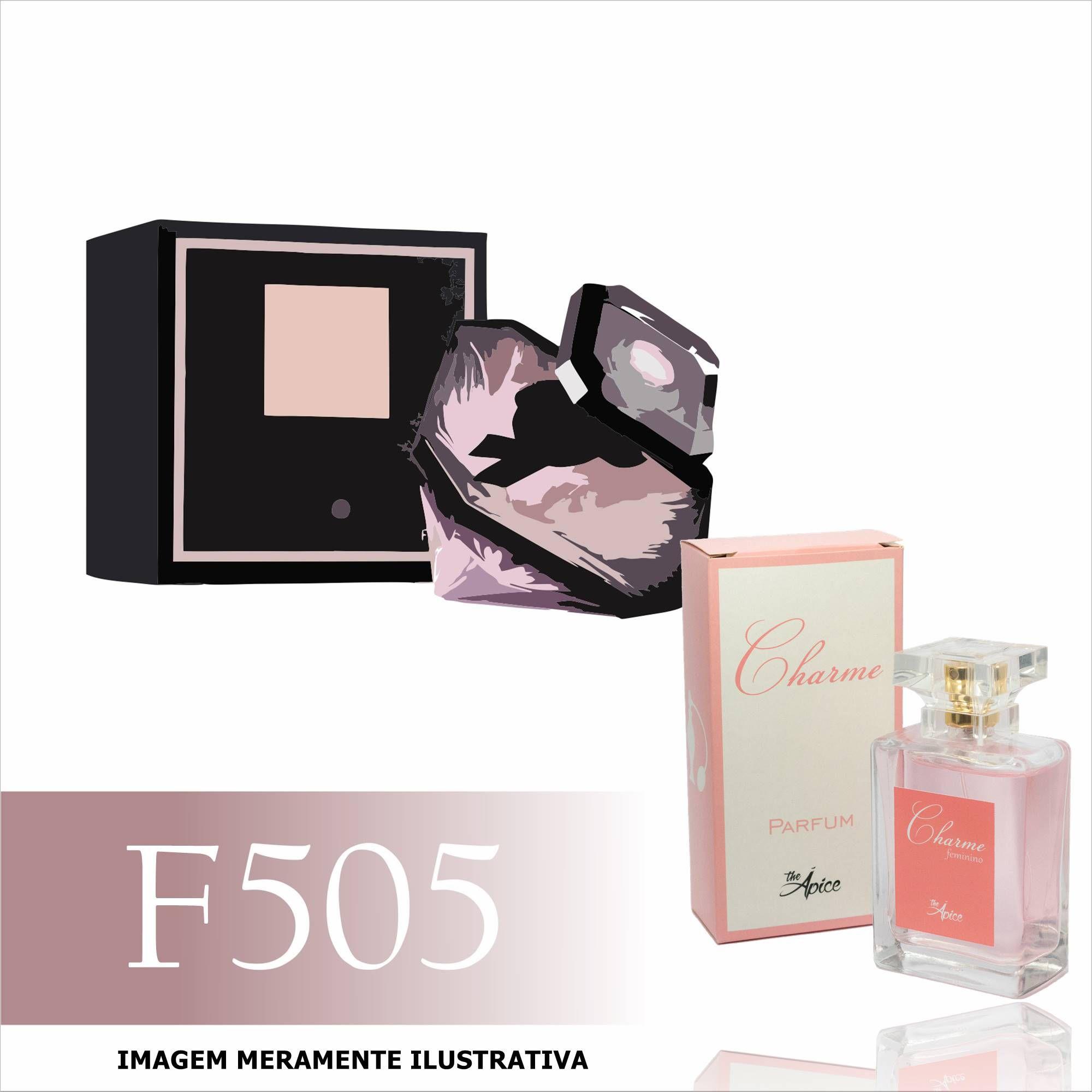 6a0ce3e9bd1a1 Perfume F505 Inspirado no La Nuit Trésor da Lancôme Feminino