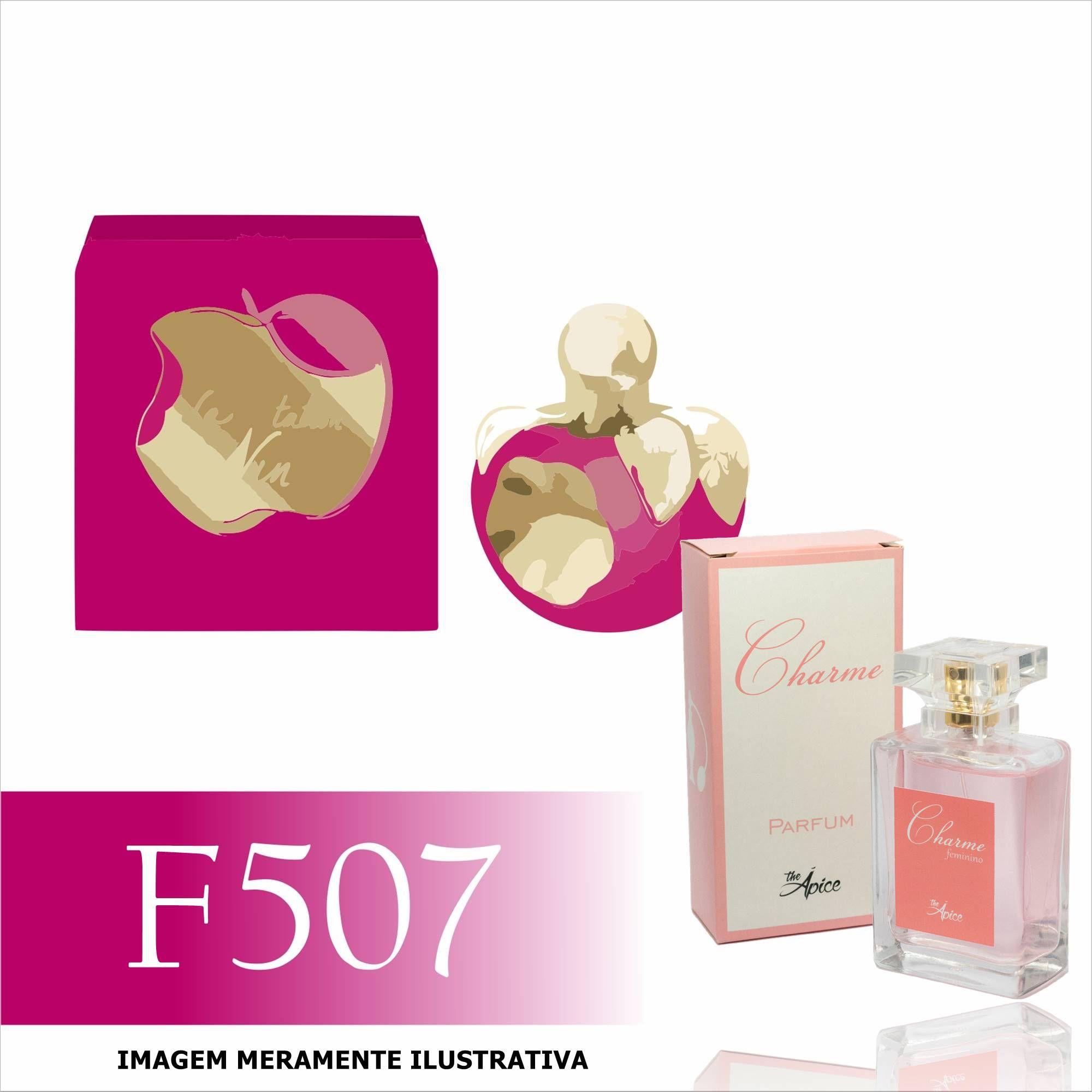 Perfume F507 Inspirado no La Tentation de Nina da Nina Ricci Feminino