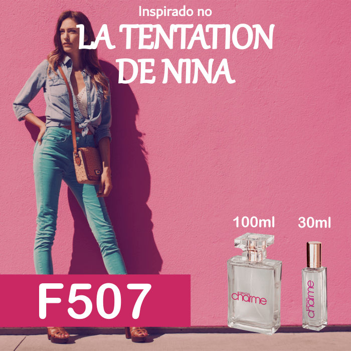 Perfume F507 Inspirado no La Tentation de Nina Feminino