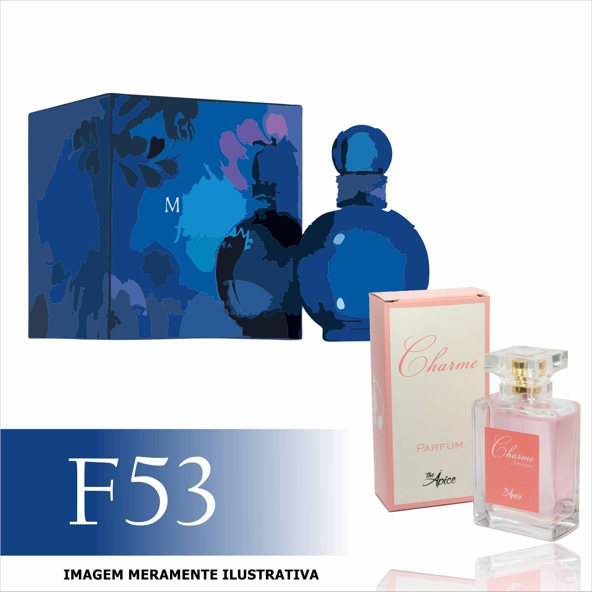 Perfume F53 Inspirado no Fantasy Midnight da Britney Spears Feminino