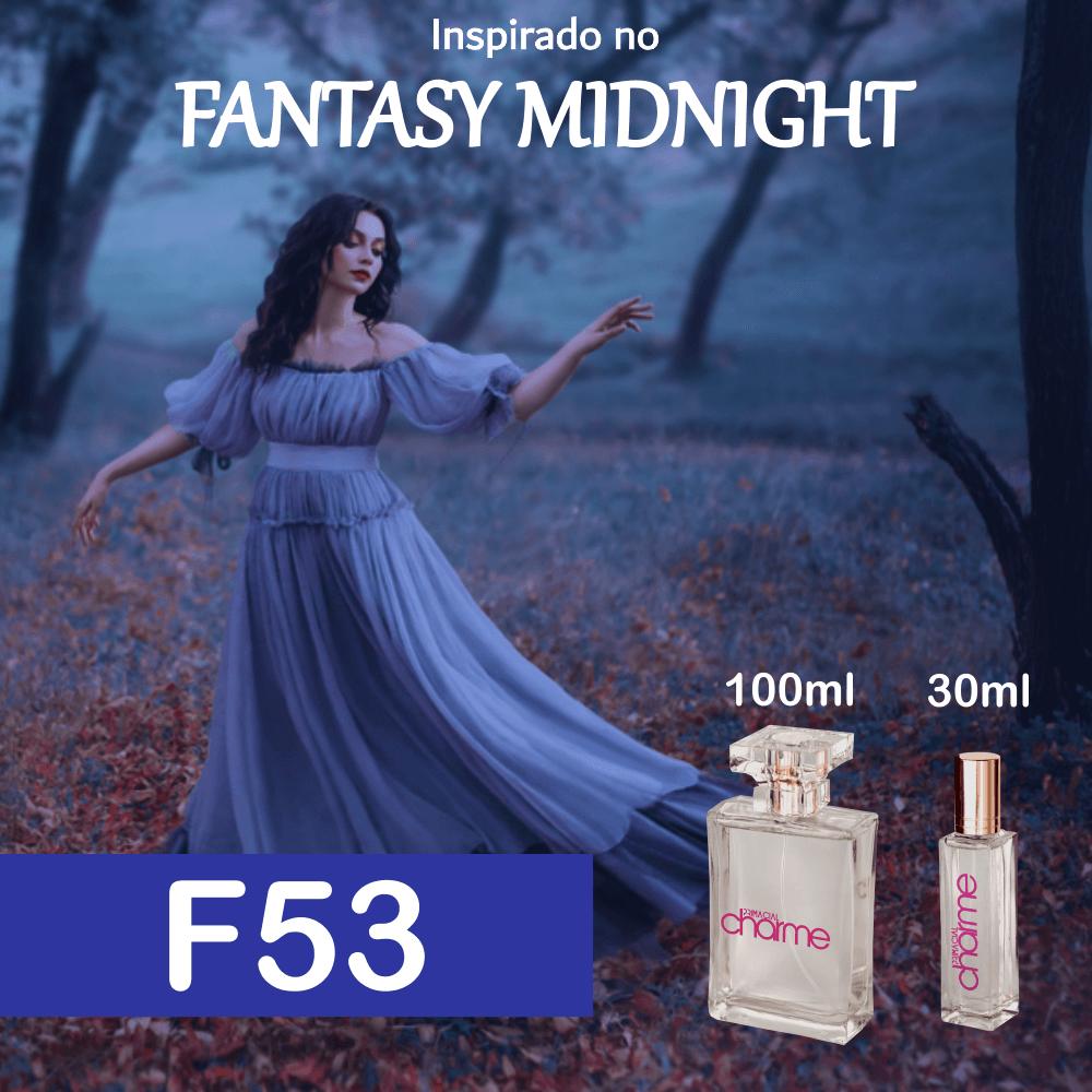 Perfume F53 Inspirado no Fantasy Midnight EDP Feminino