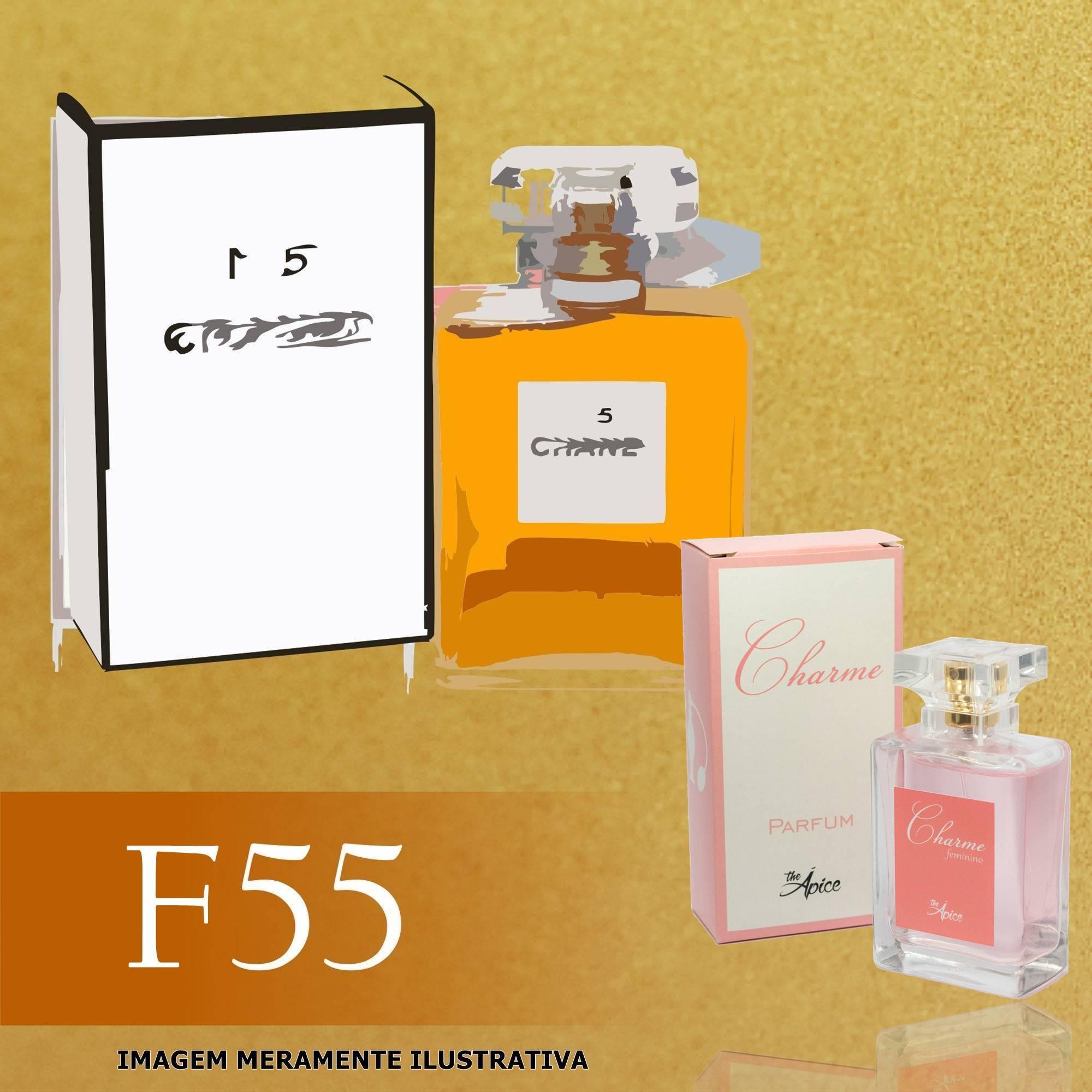 5c399a995a0 Perfume F55 Inspirado no N° 5 da Chanel Feminino