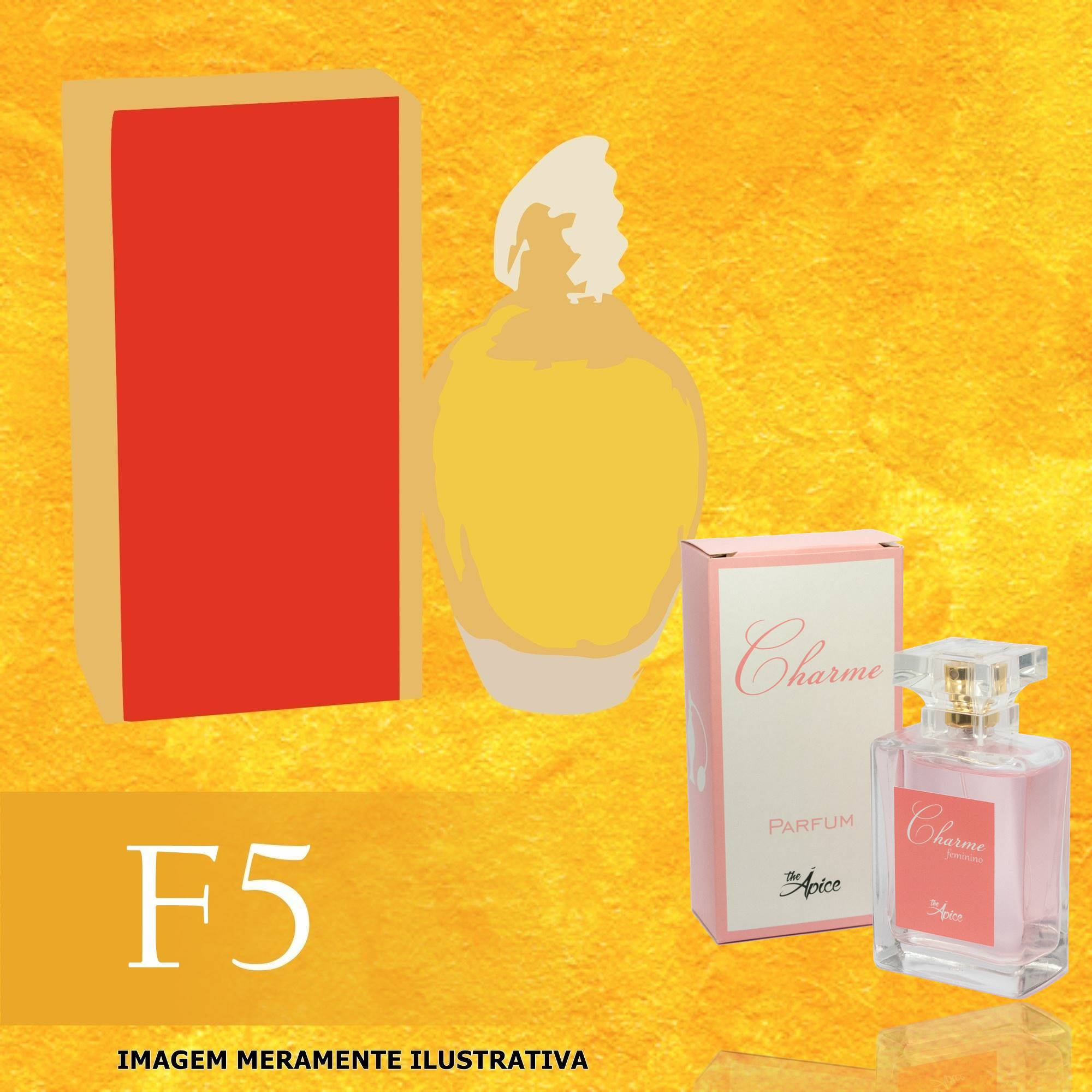 Perfume F5 Inspirado no Amarige da Givenchy Feminino