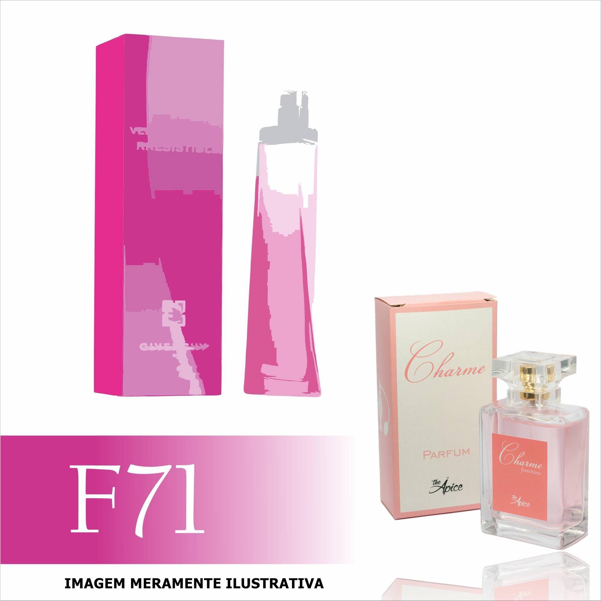 Perfume F71 Inspirado no Very Irrésistible da Givenchy Feminino