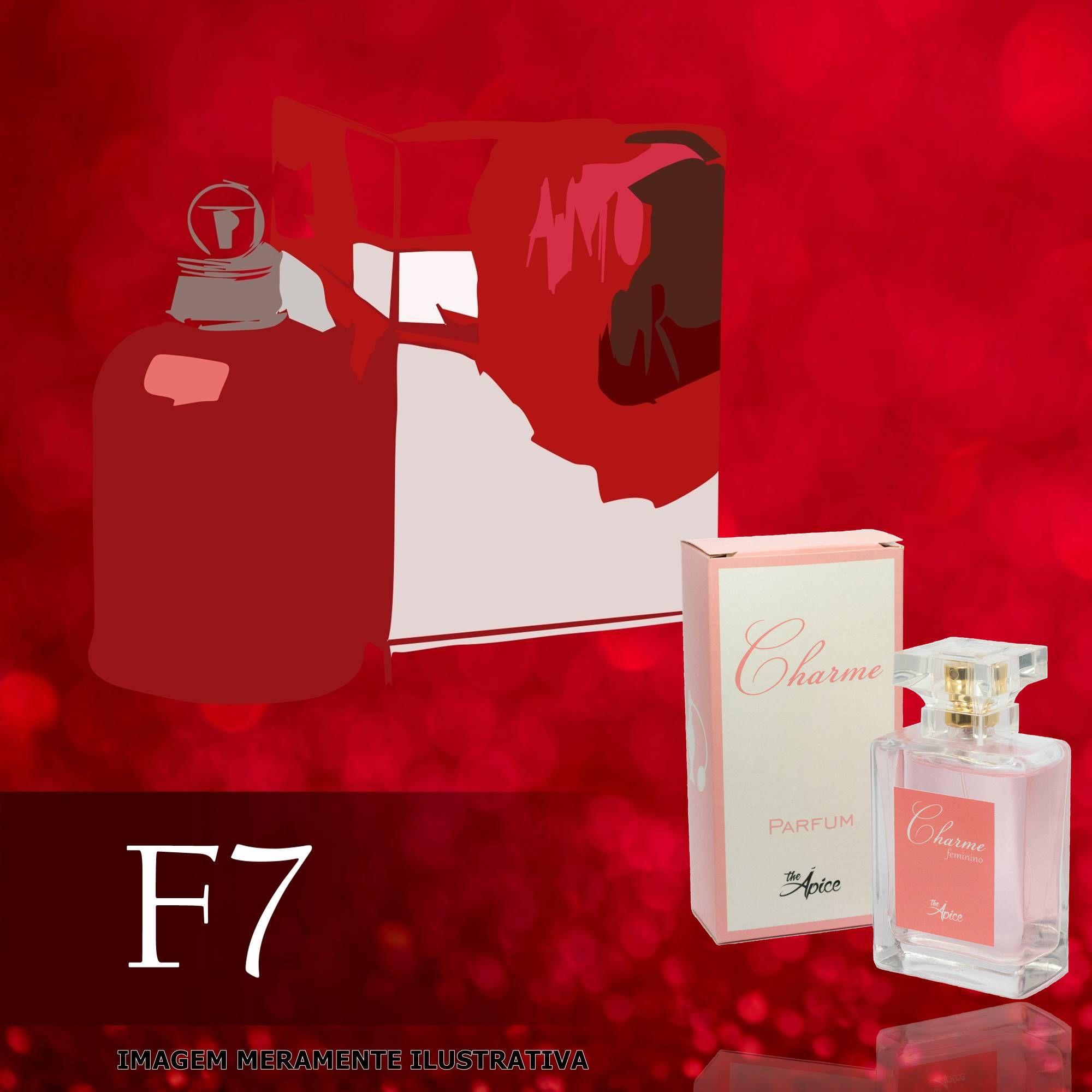 Perfume F7 Inspirado no Amor Amor da Cacharel Feminino