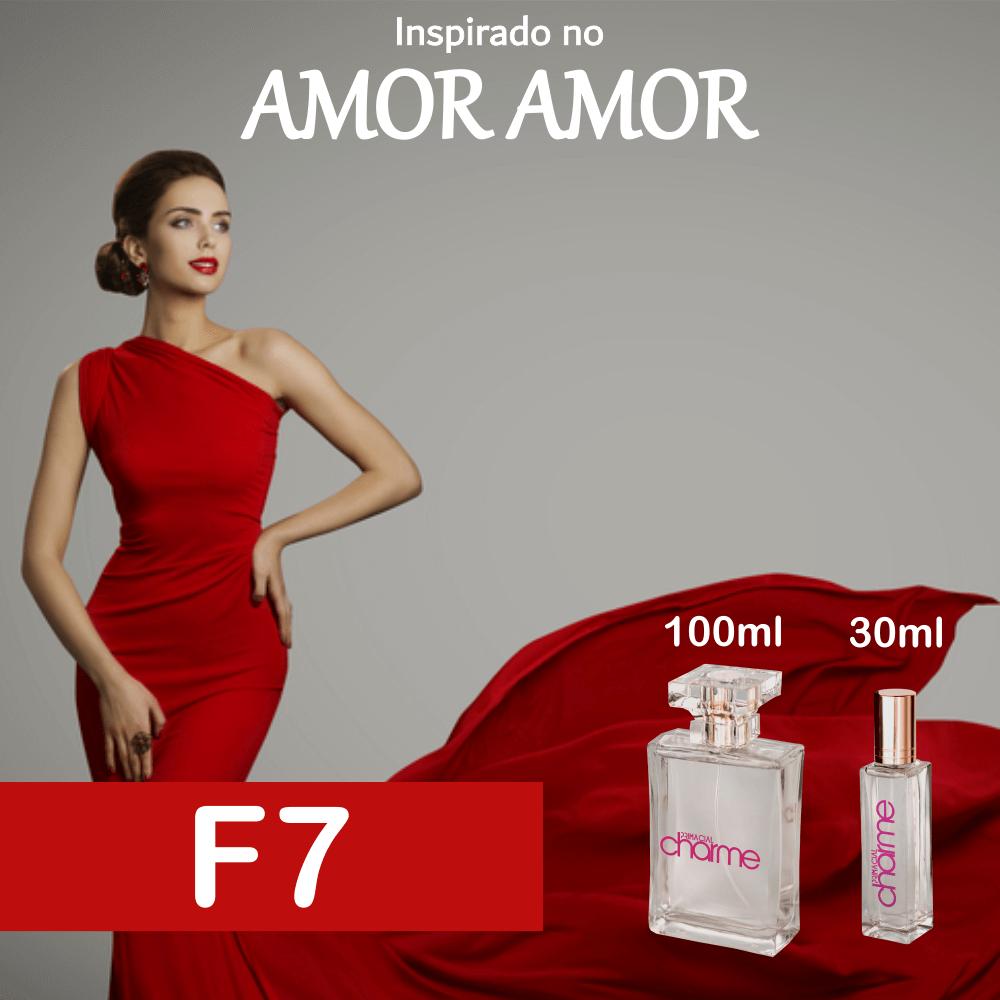 Perfume F7 Inspirado no Amor Amor Feminino