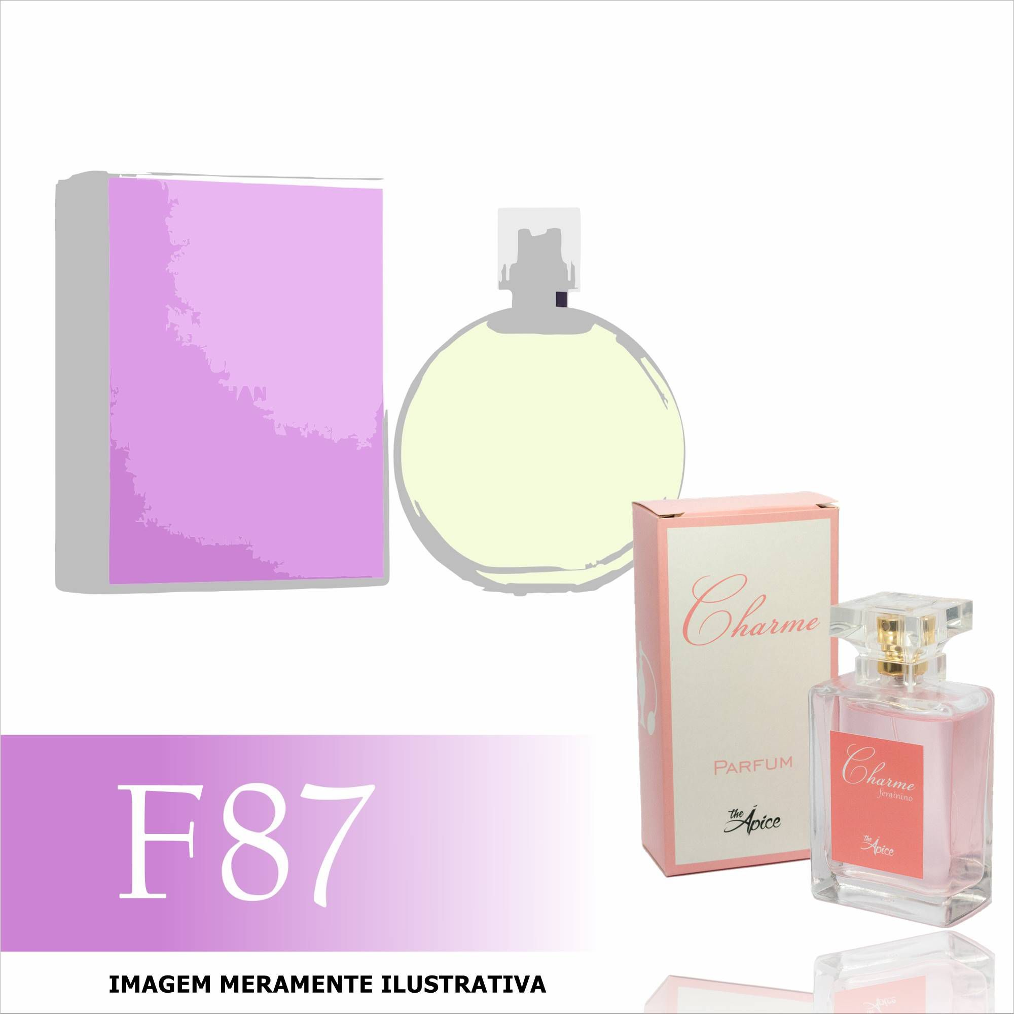 825a288e3e6 Perfume F87 Inspirado no Chance Eau Fraiche da Chanel Feminino