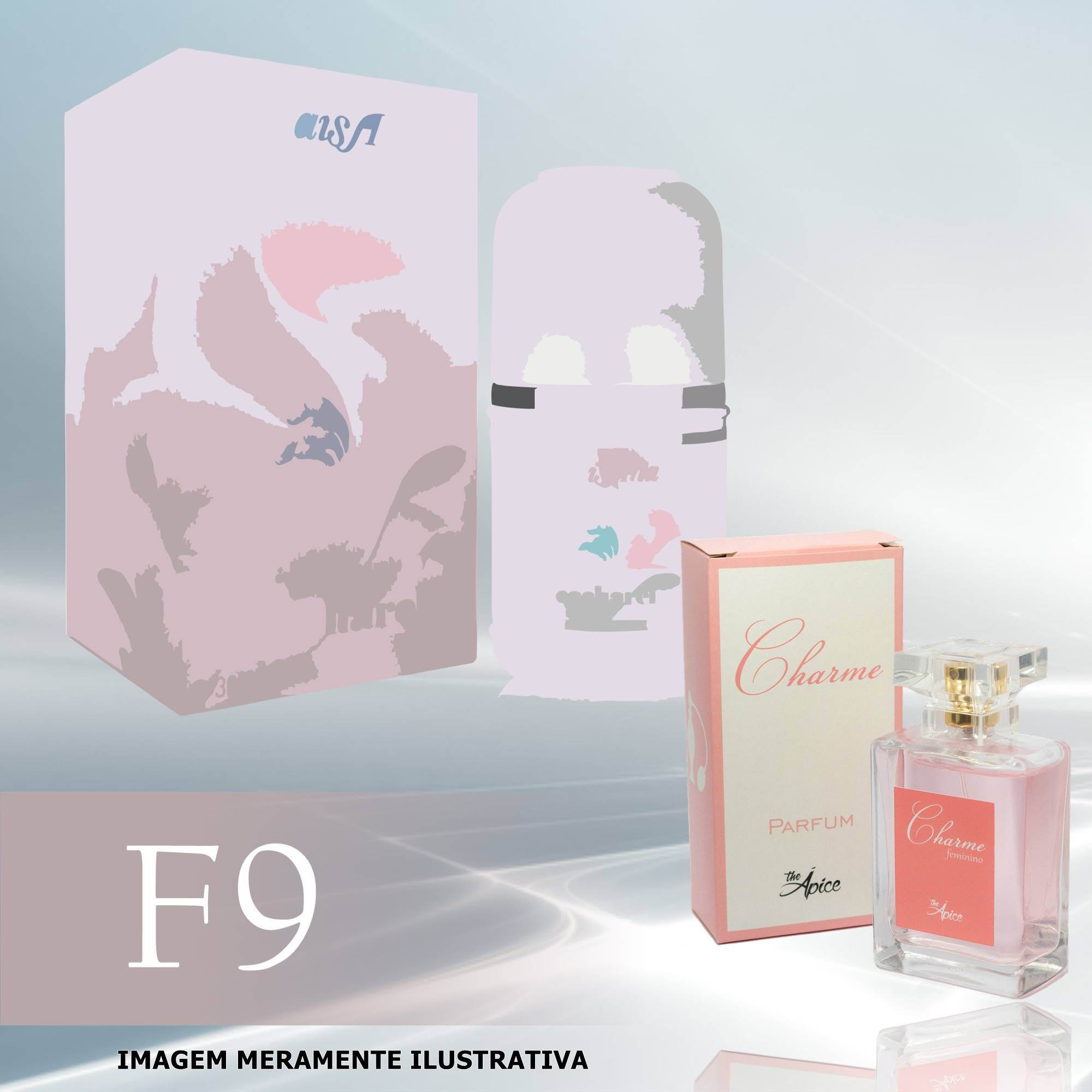 Perfume F9 Inspirado no Anais Anais da Cacharel Feminino