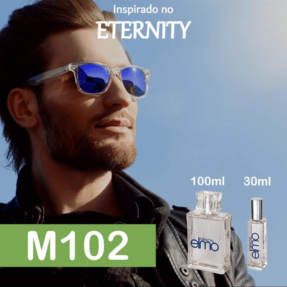 Perfume M102 Inspirado no Eternity EDP Masculino