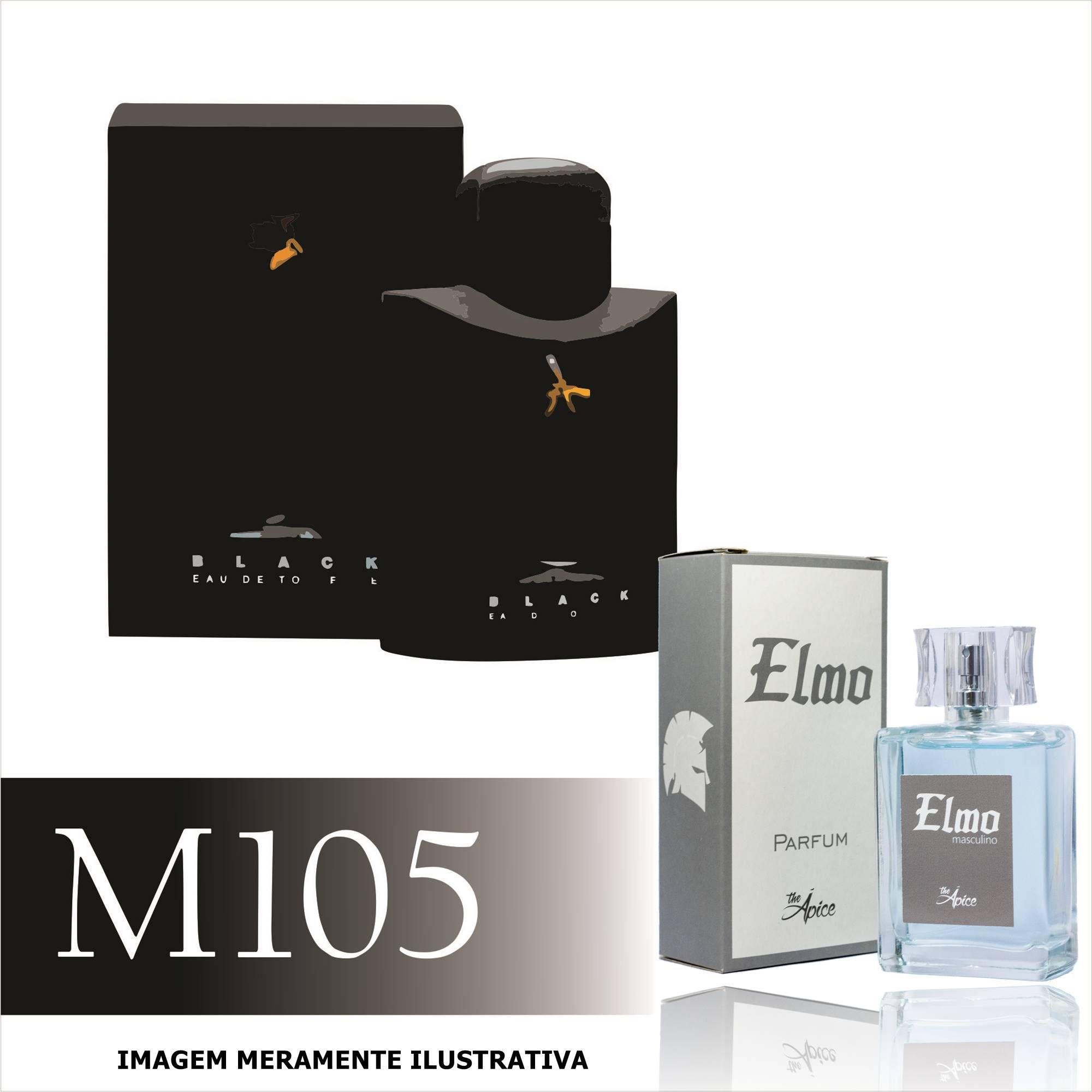 Perfume M105 Inspirado no Ferrari Black da Ferrari Masculino