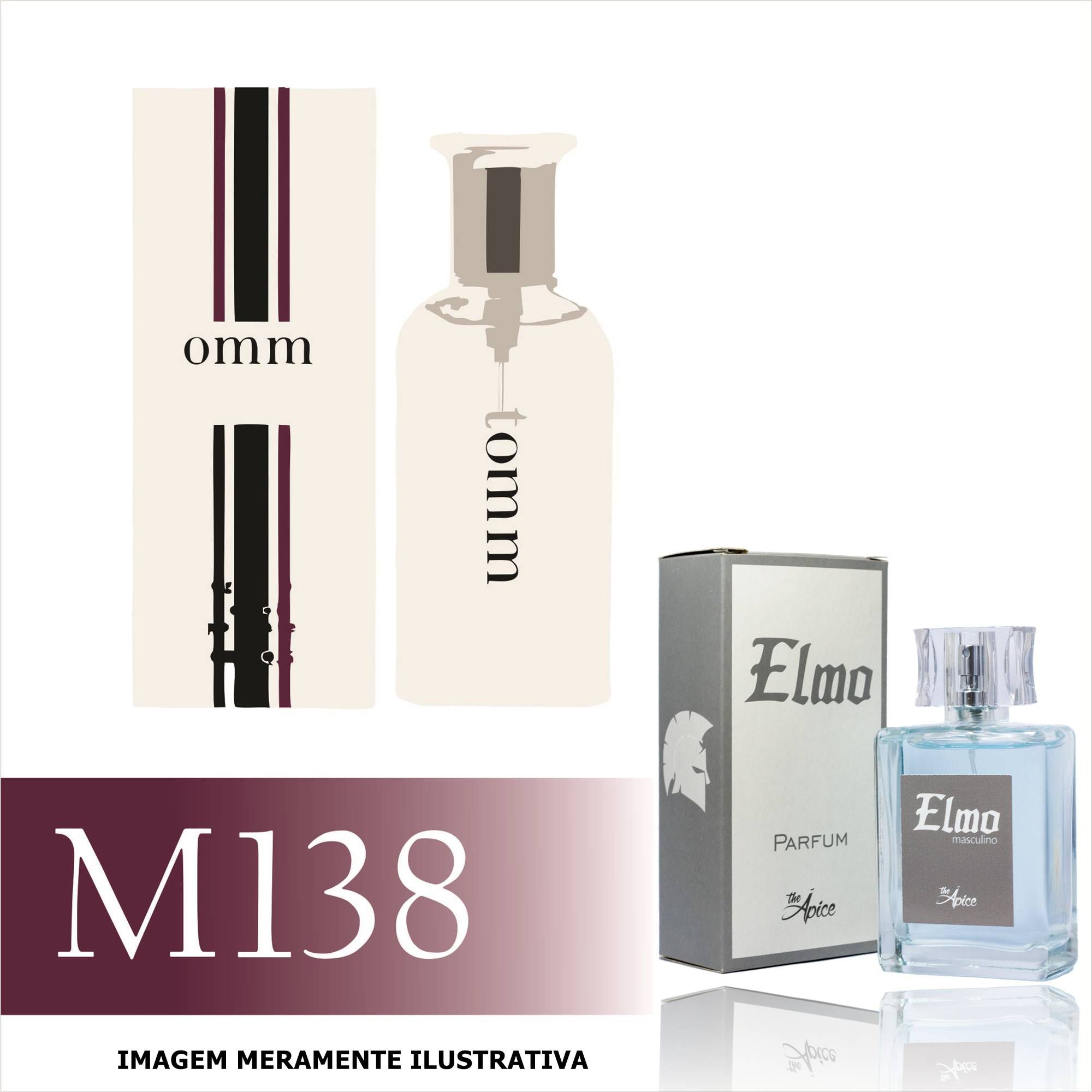 Perfume M138 Inspirado no Tommy  da Tommy Hilfiger Masculino