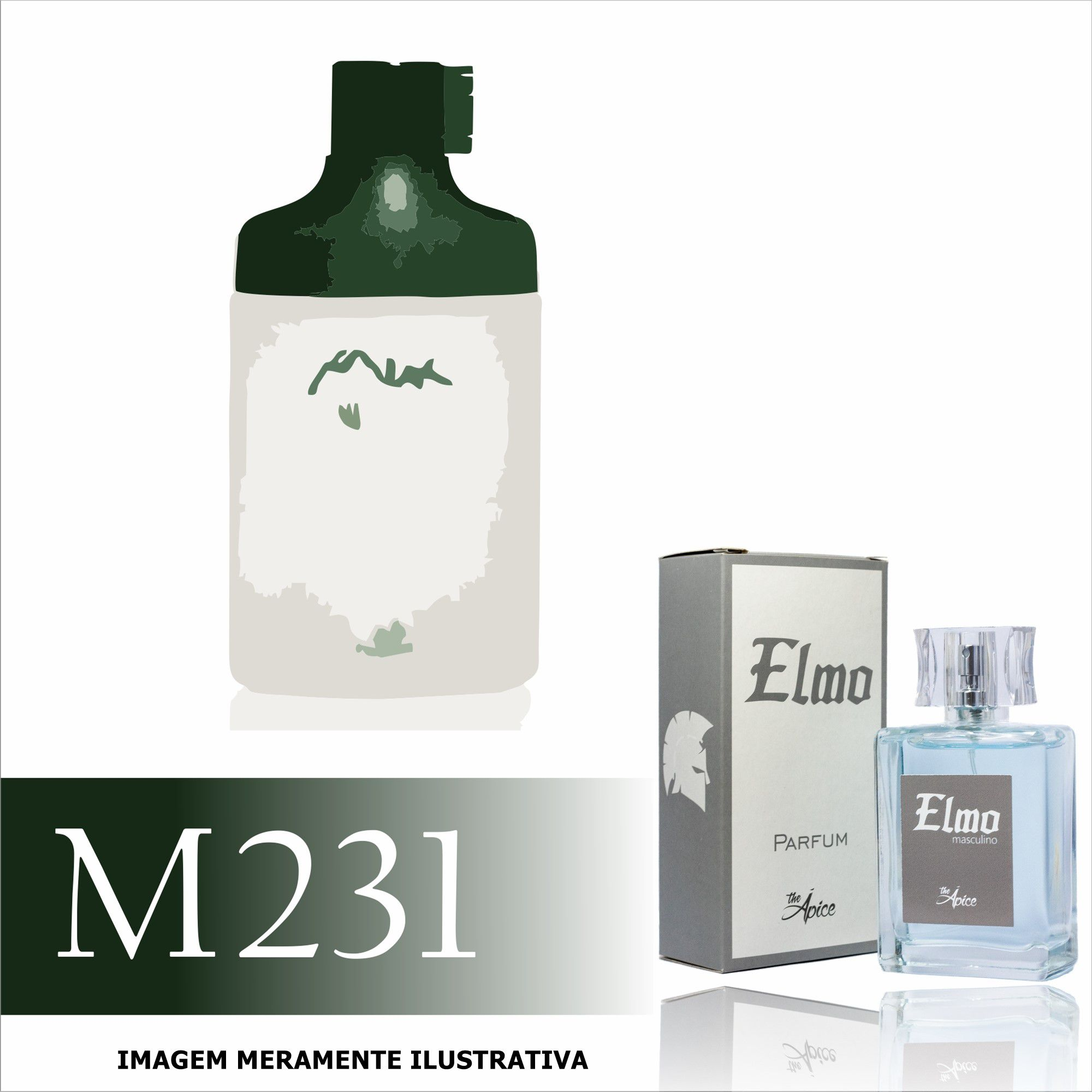 Perfume M231 Inspirado no Kaiak Aventura da Natura Masculino