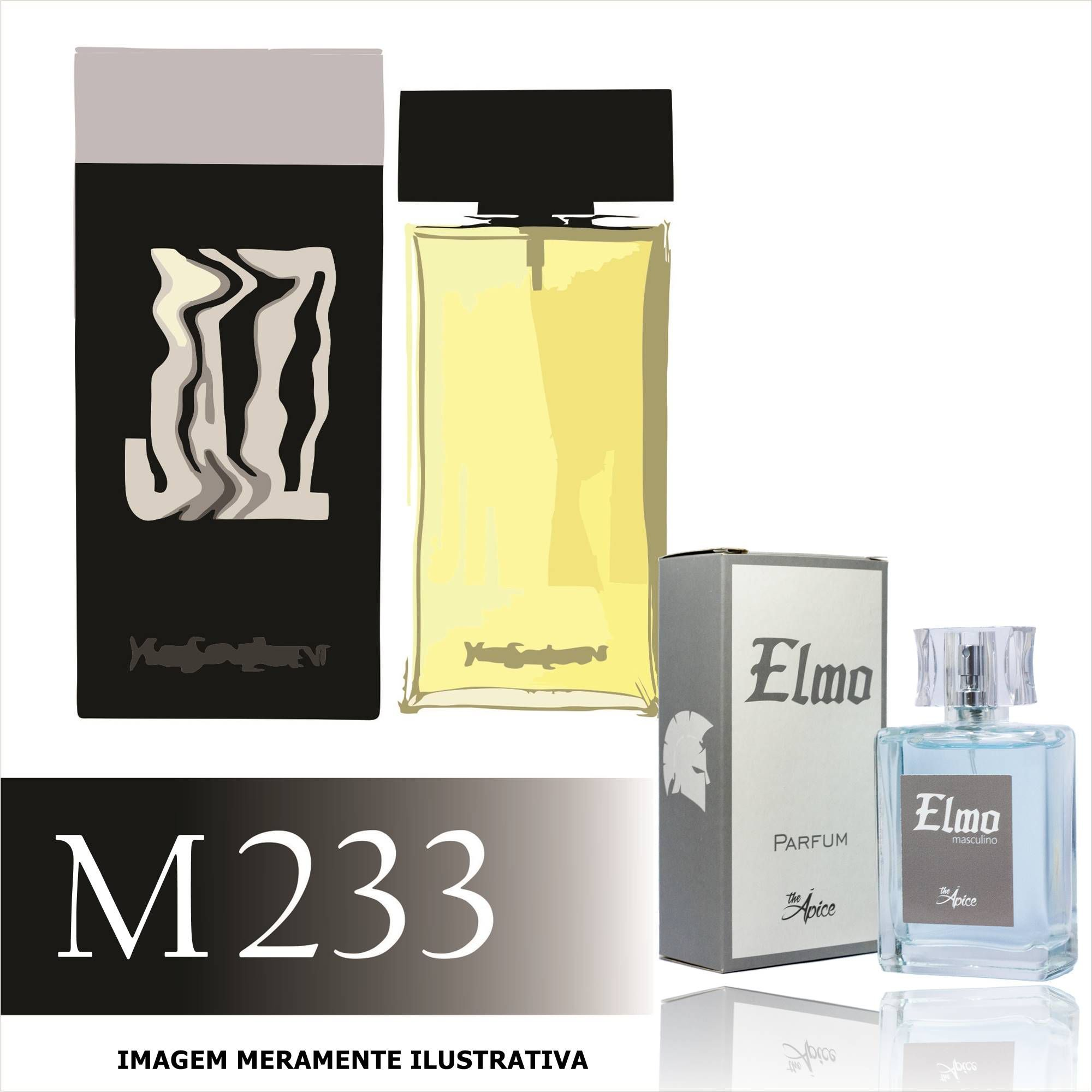 Perfume M233 Inspirado no Jazz da Yves Saint Laurent Masculino