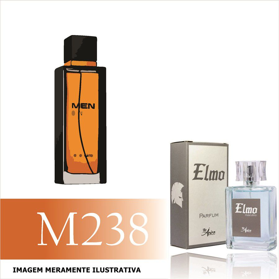 Perfume M238 Inspirado no Men Only da O Boticário Masculino