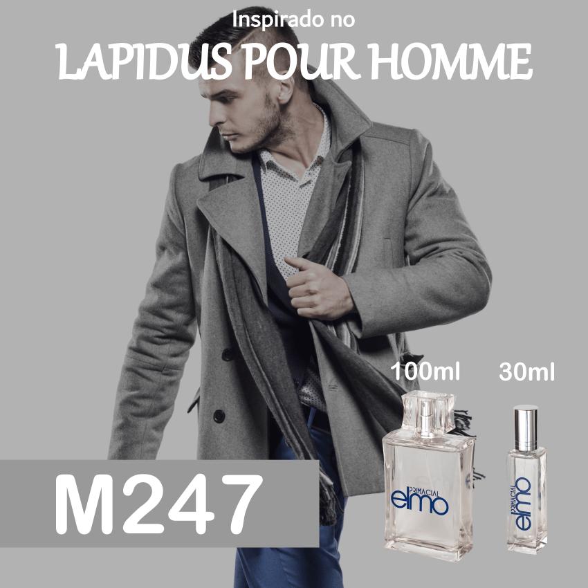 Perfume M247 Inspirado no Lapidus Pour Homme Masculino