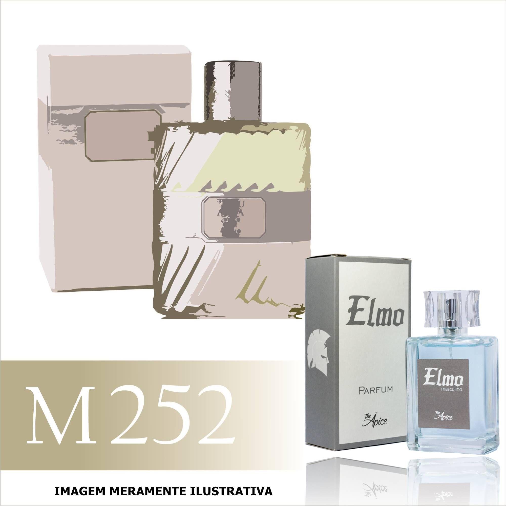 Perfume M252 Inspirado no Eau Sauvage da Christian Dior Masculino