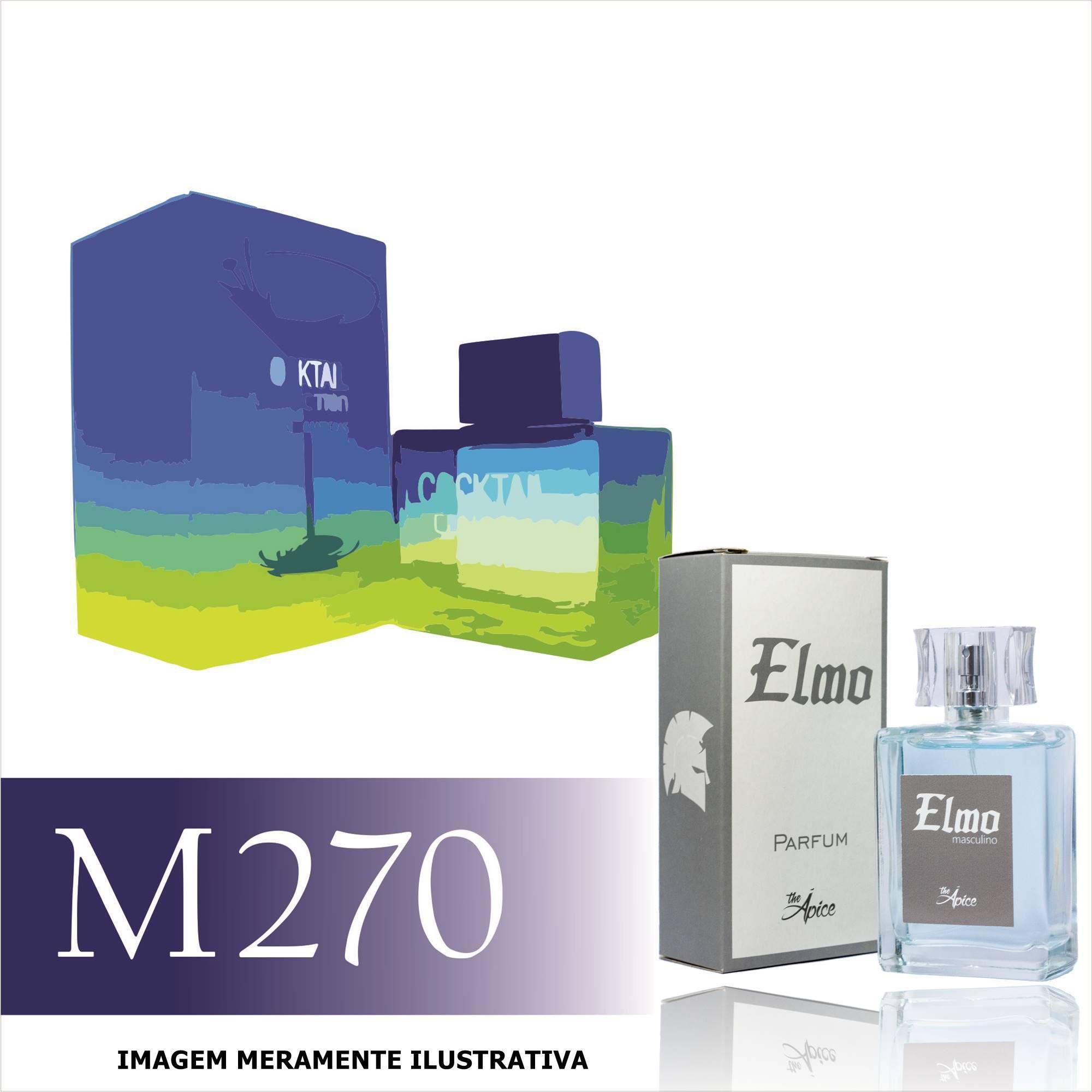 Perfume M270 Inspirado no Cocktail Seduction Blue da Antonio Banderas Masculino