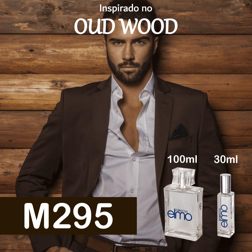 Perfume M295 Inspirado no Oud Wood Masculino