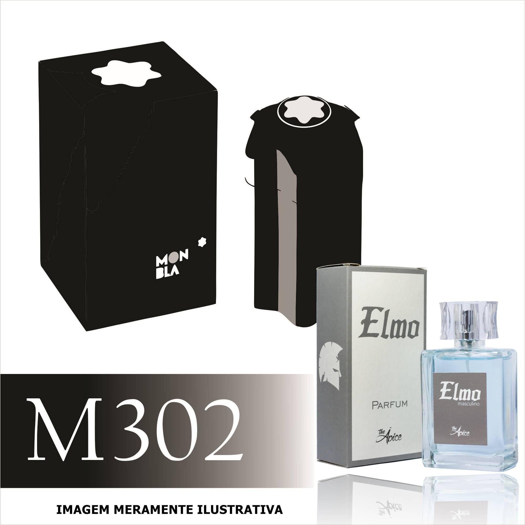 Perfume M302 Inspirado no Emblem da MontBlanc Masculino