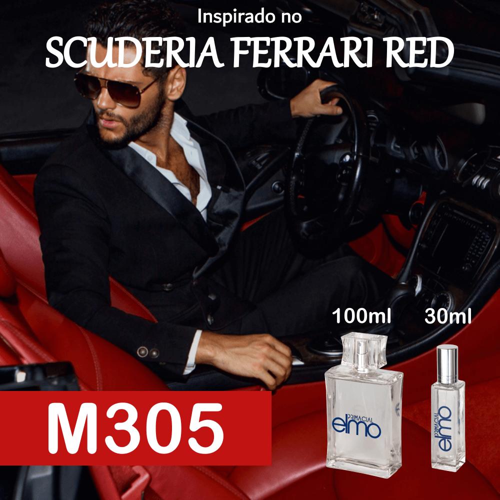 Perfume M305 Inspirado no Ferrari Scuderia Red Masculino