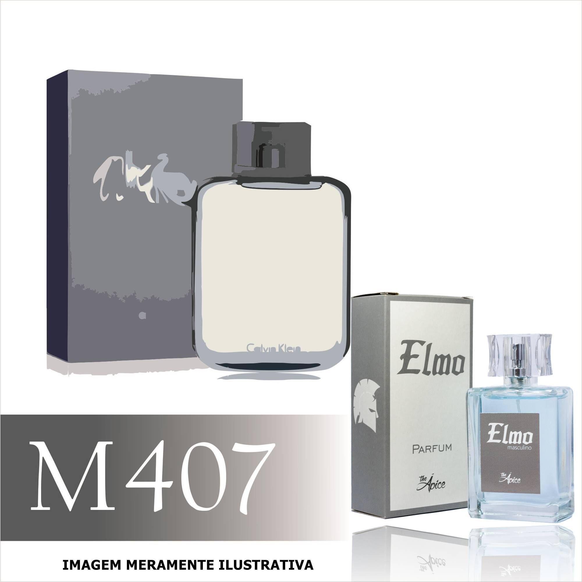 Perfume M407 Inspirado no CK Free da Calvin Klein Masculino