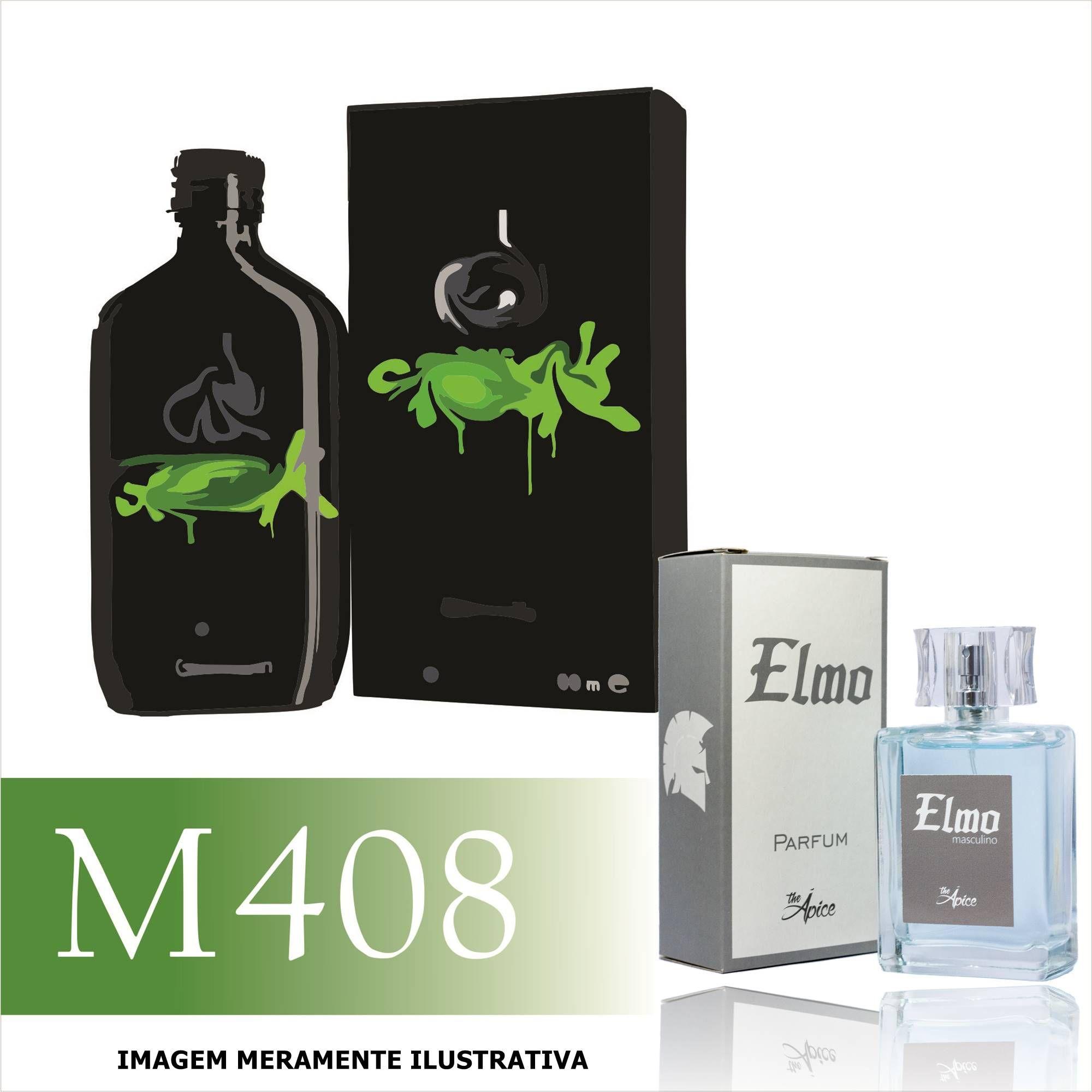 Perfume M408 Inspirado no CK One Shock For Him da Calvin Klein Masculino