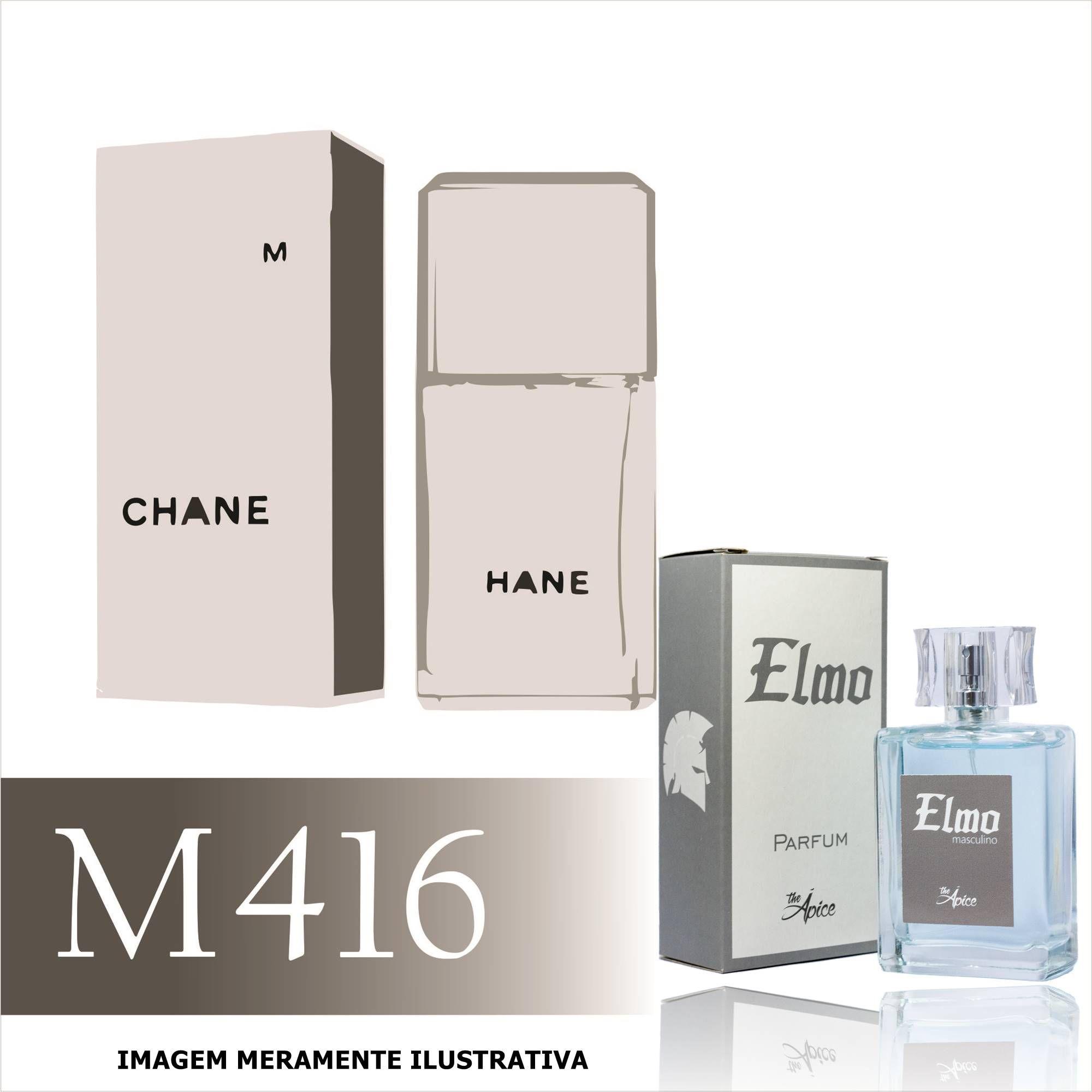 Perfume M416 Inspirado no Egoiste Platinum da Chanel Masculino