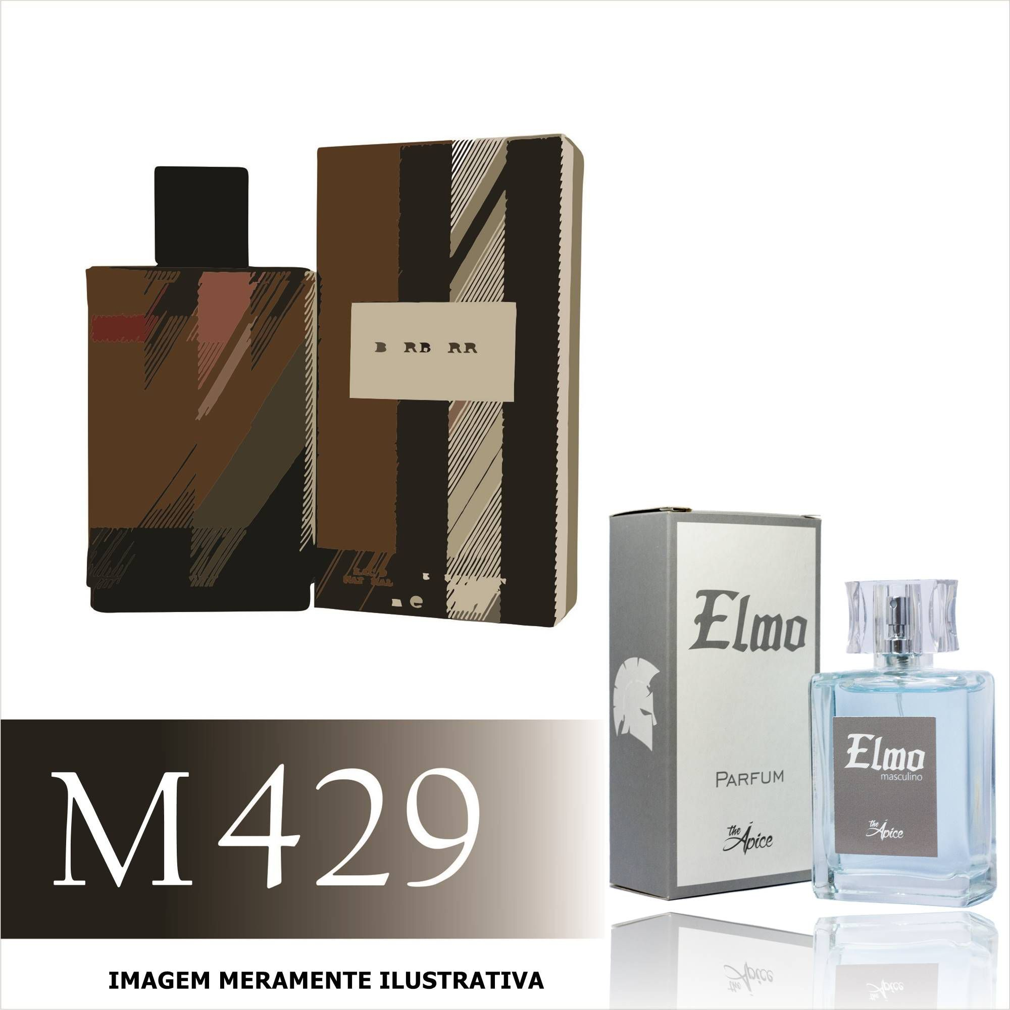 Perfume M429 Inspirado no London For Men da Burberry Masculino