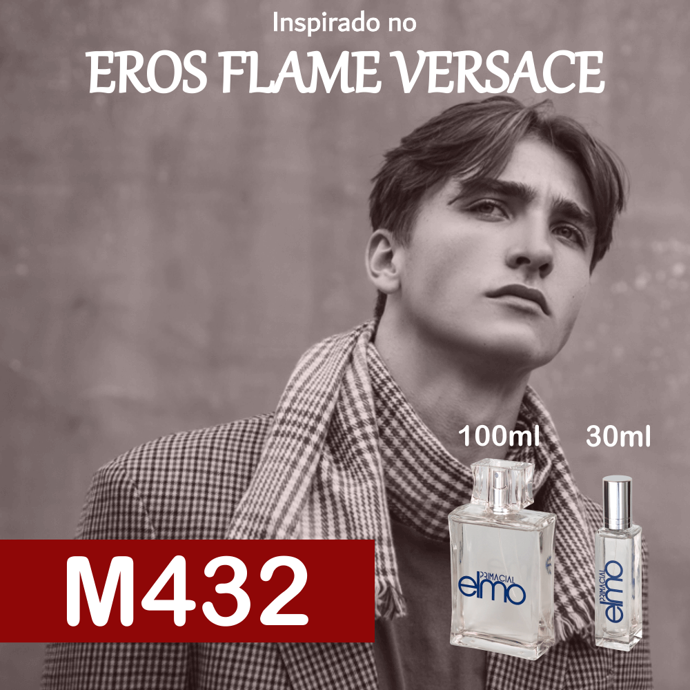 Perfume M432 Inspirado no Eros Flame Masculino