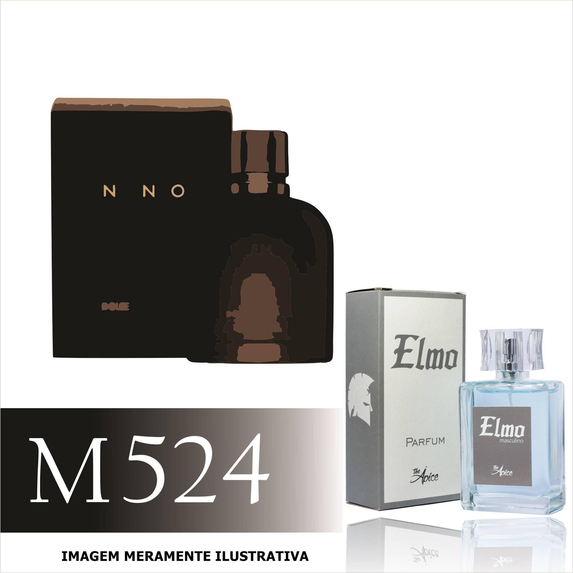 Perfume M524 Inspirado no Dolce & Gabbana Intenso Masculino