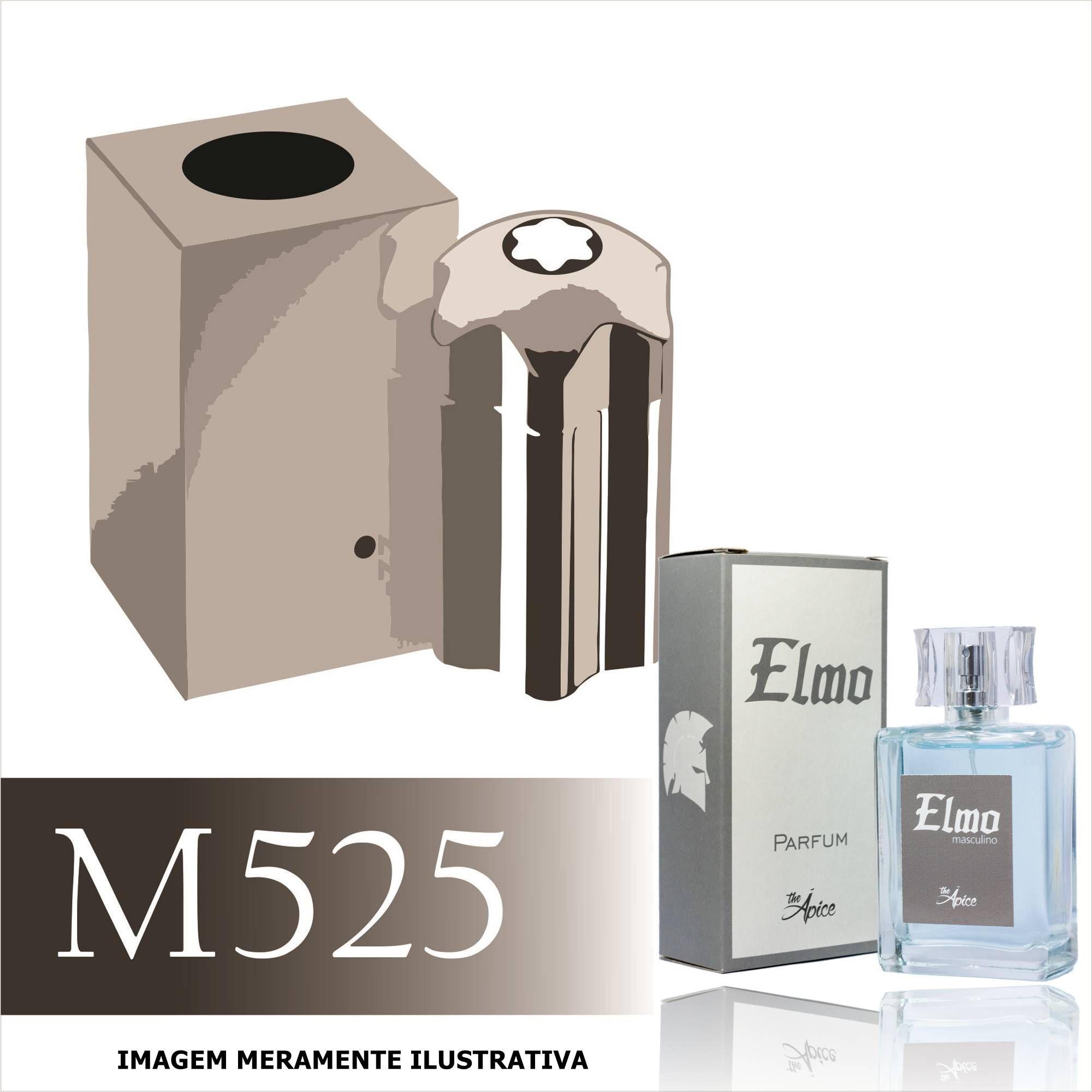 Perfume M525 Inspirado no Emblem Intense da MontBlanc Masculino